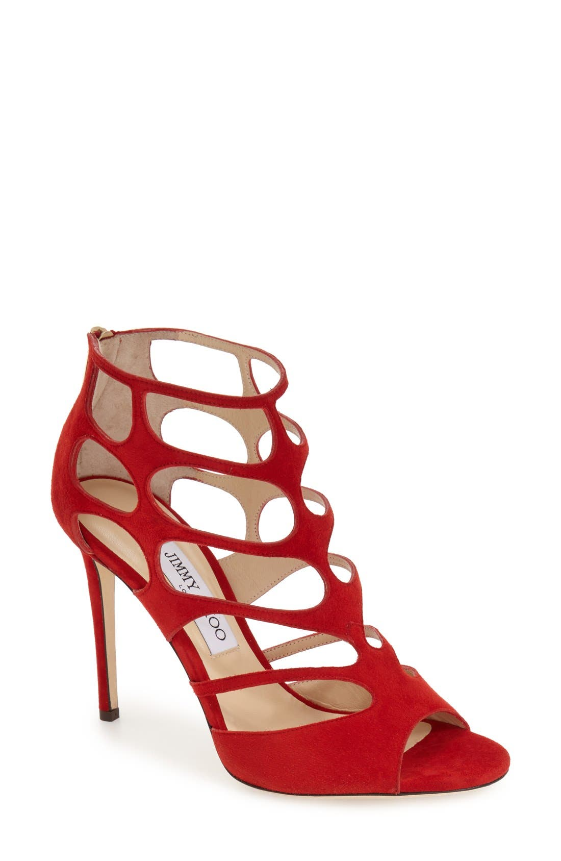Alternate Image 1 Selected - Jimmy Choo 'Ren' Cutout Sandal (Women)