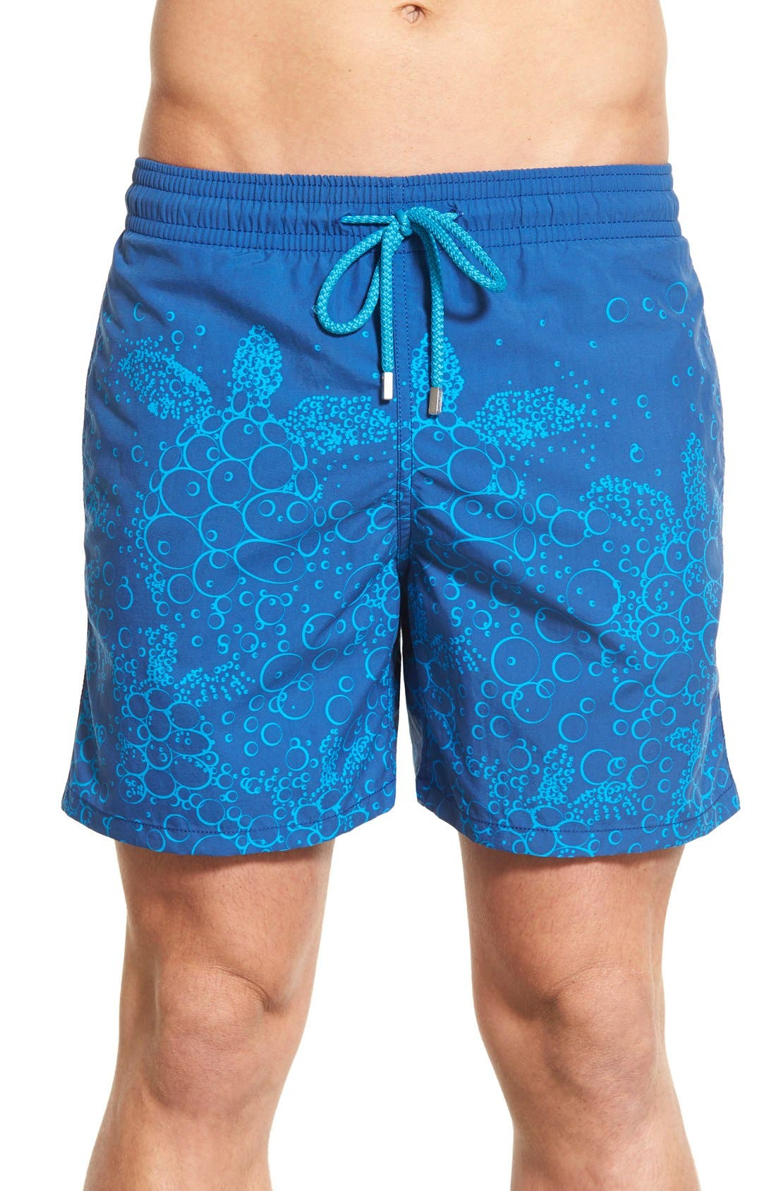 Vilebrequin 'Moorea - Bubble Turtles' Print Swim Trunks