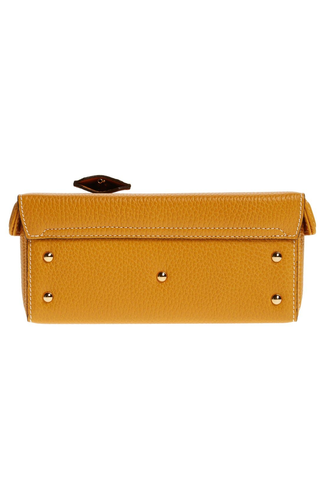 Alternate Image 6  - Mark Cross 'Small Grace' Pebbled Calfskin Leather Box Clutch