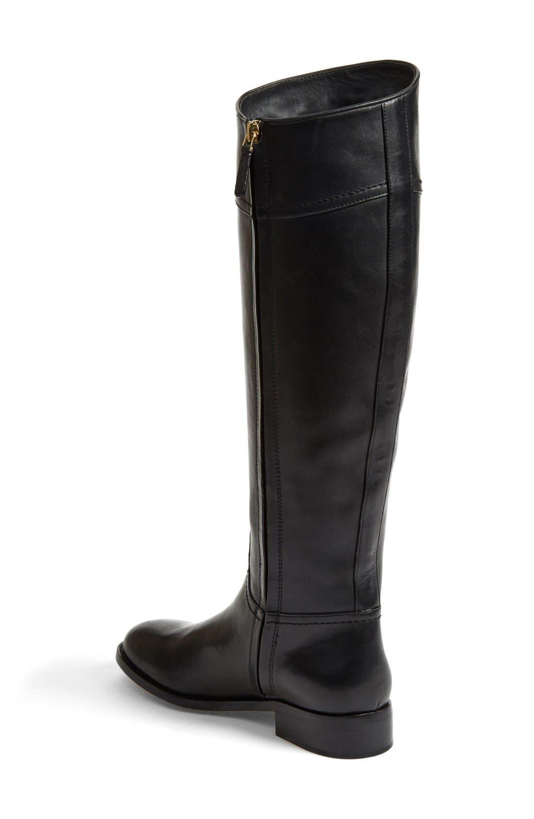 Alternate Image 2  - Tory Burch 'Ashlynn' Wide Calf Riding Boot (Women)
