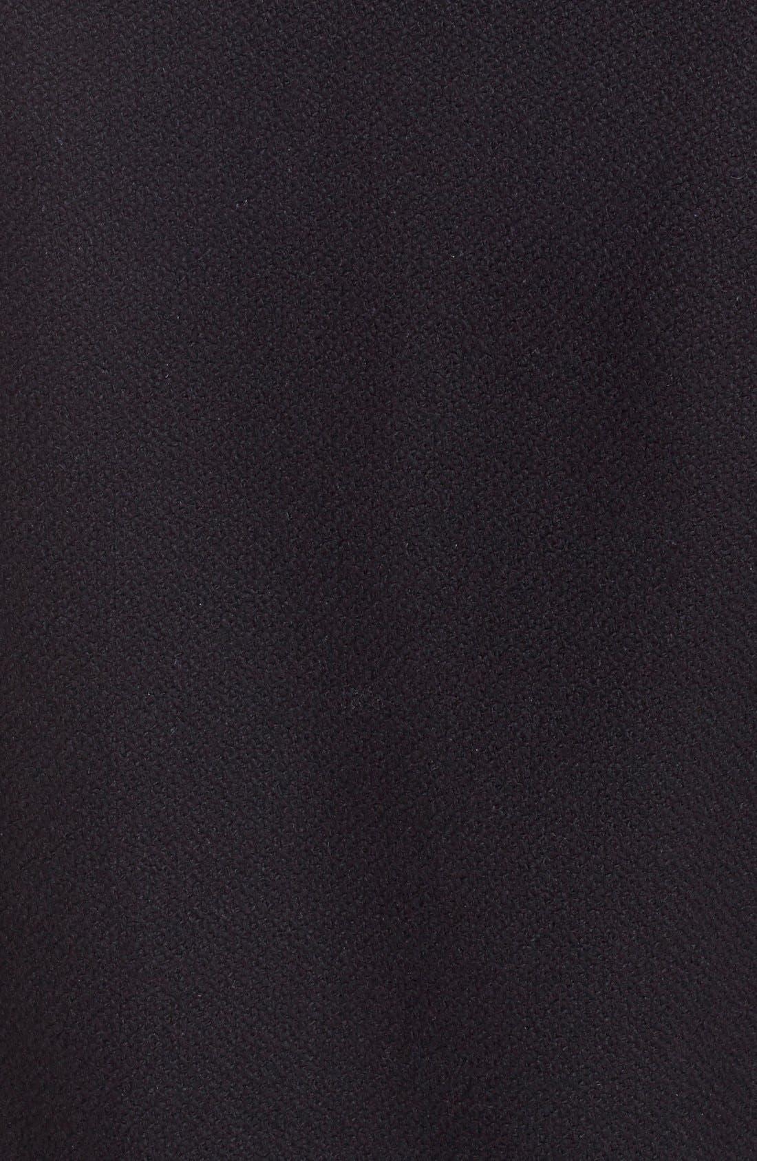 Alternate Image 3  - Saint Laurent 'Teddy' White Leather Trim Bomber Jacket