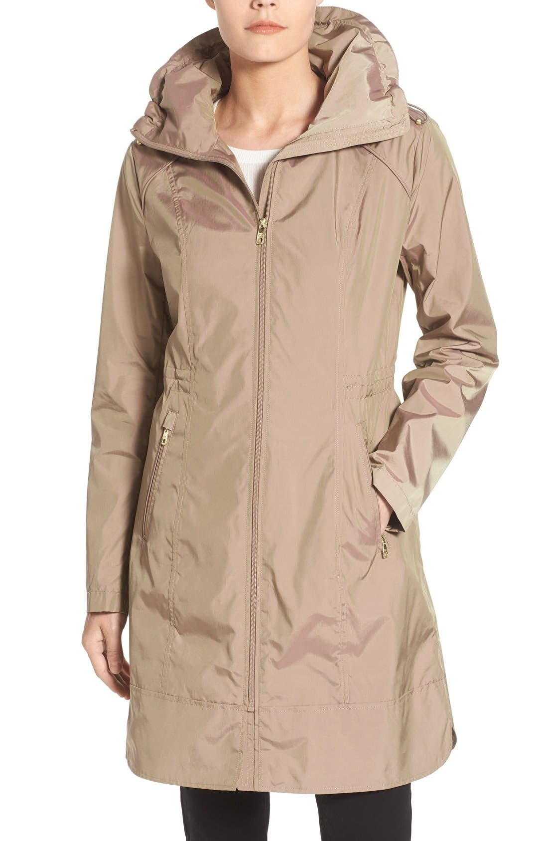 COLE HAAN SIGNATURE Packable Hooded Anorak