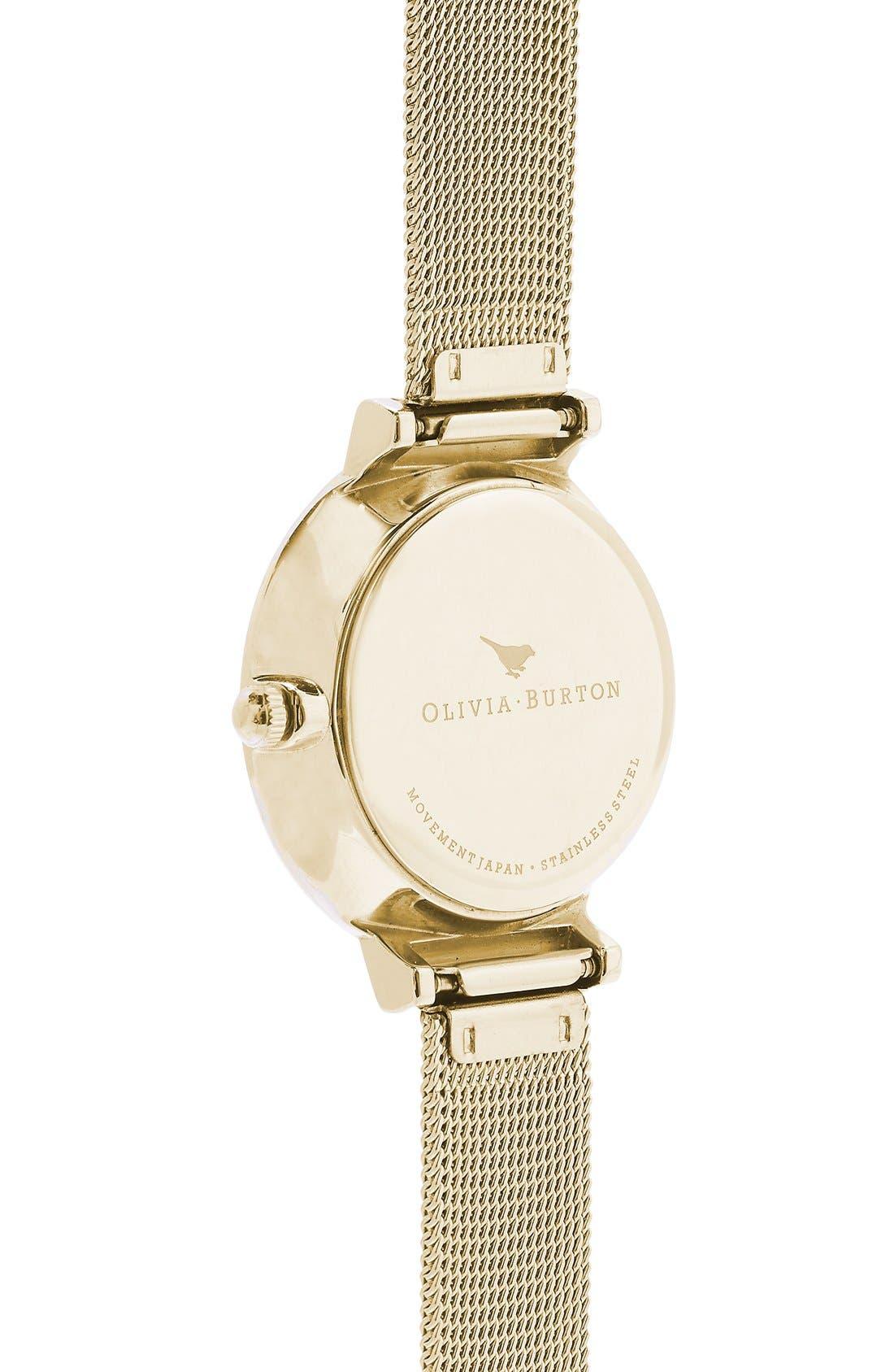Alternate Image 2  - Olivia Burton 'The Hackney' Mesh Strap Watch, 29mm