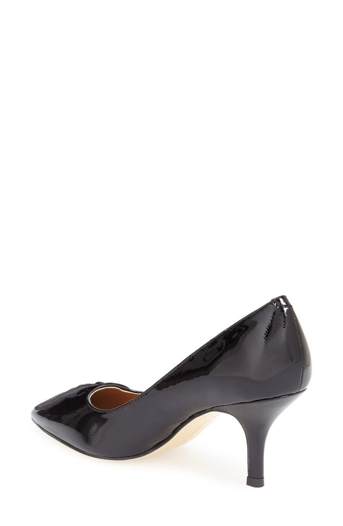 Alternate Image 2  - J. Reneé 'Camley' Pointy Toe Bow Pump (Women)