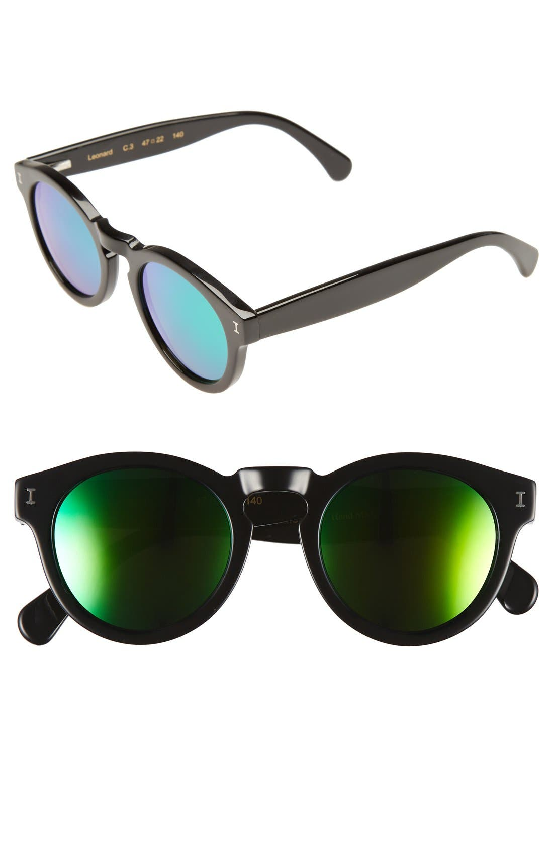 Alternate Image 1 Selected - Illesteva 'Leonard' 47mm Sunglasses