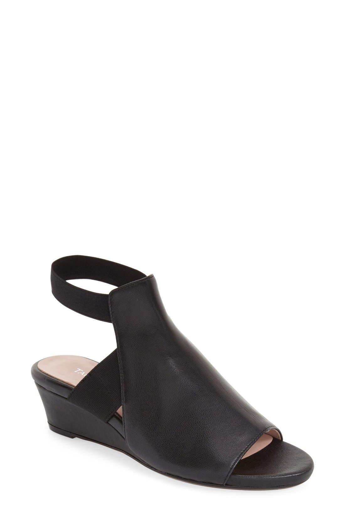 Alternate Image 1 Selected - Taryn Rose 'Shye' Wedge Sandal (Women)