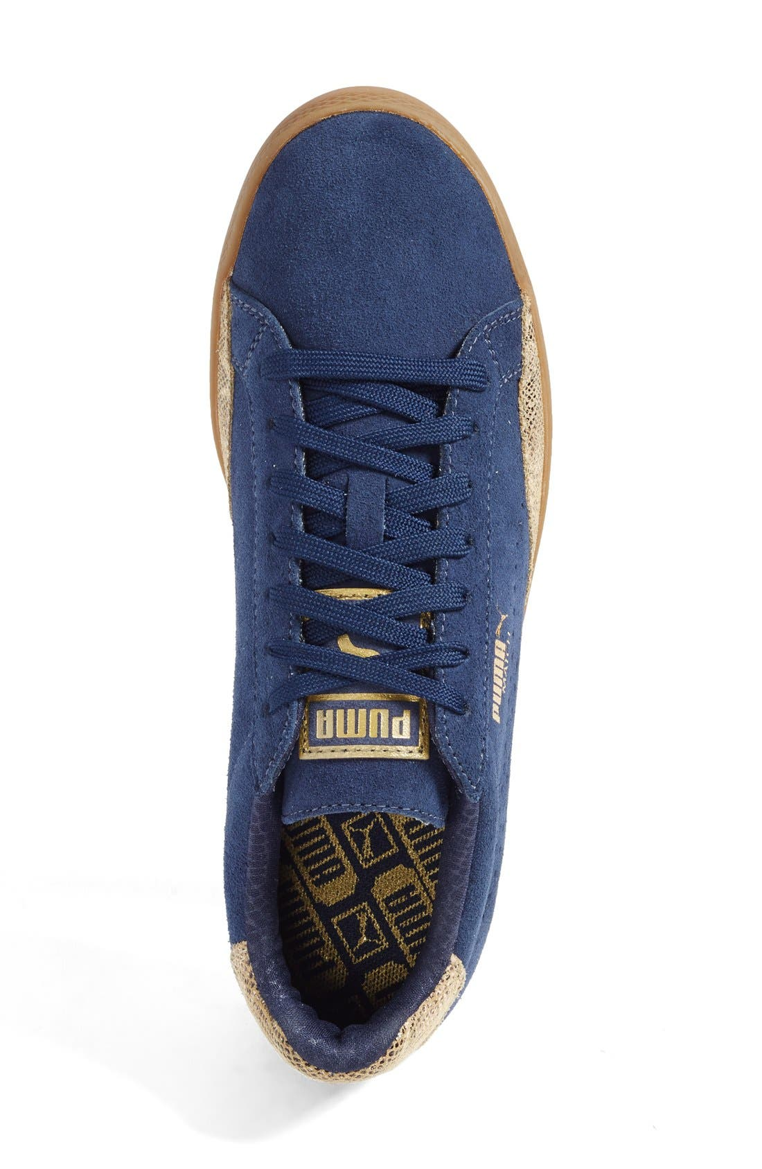 Alternate Image 3  - PUMA 'Match Lo - Basic Sport' Leather Sneaker (Women)