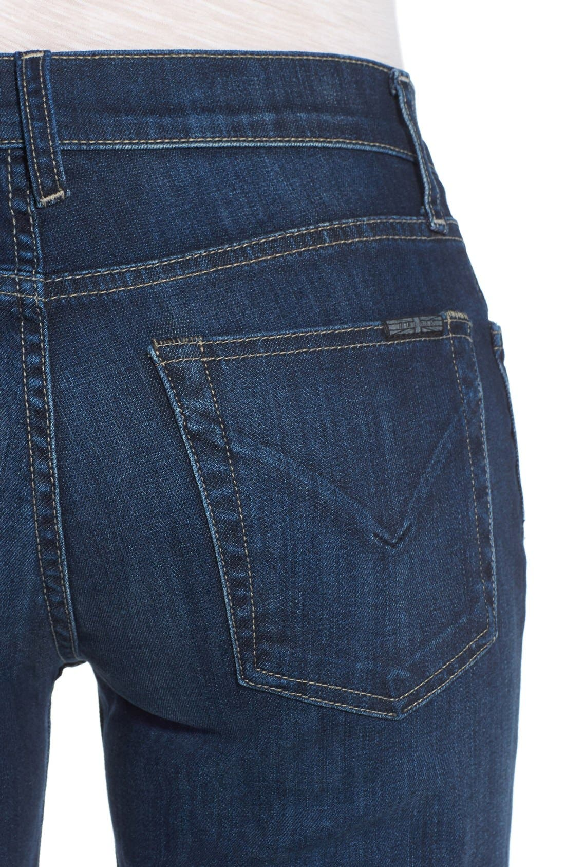 Alternate Image 4  - Hudson Jeans Piper Wide Leg Jeans (Thruway)