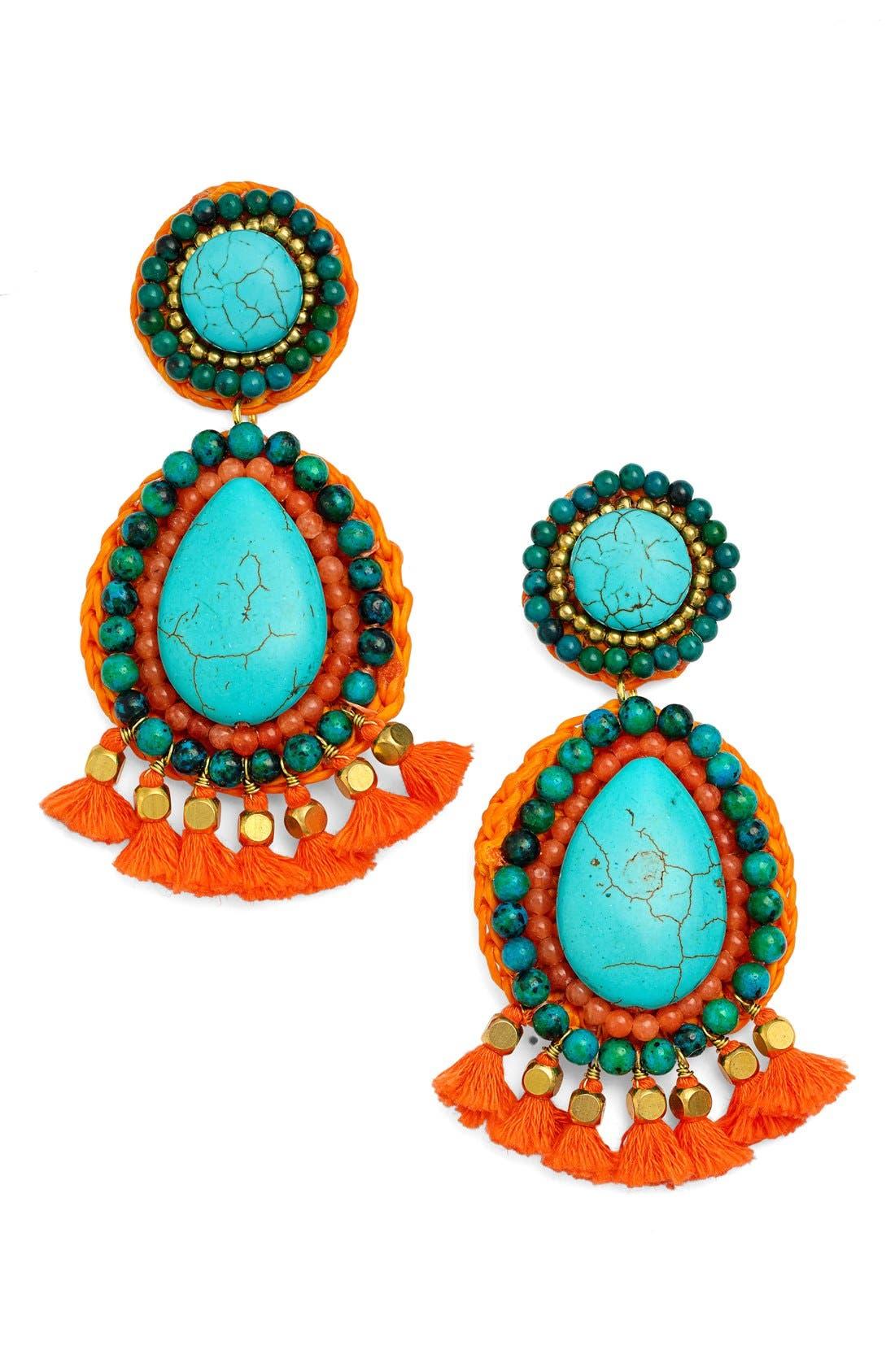 Main Image - Panacea Tassel Earrings