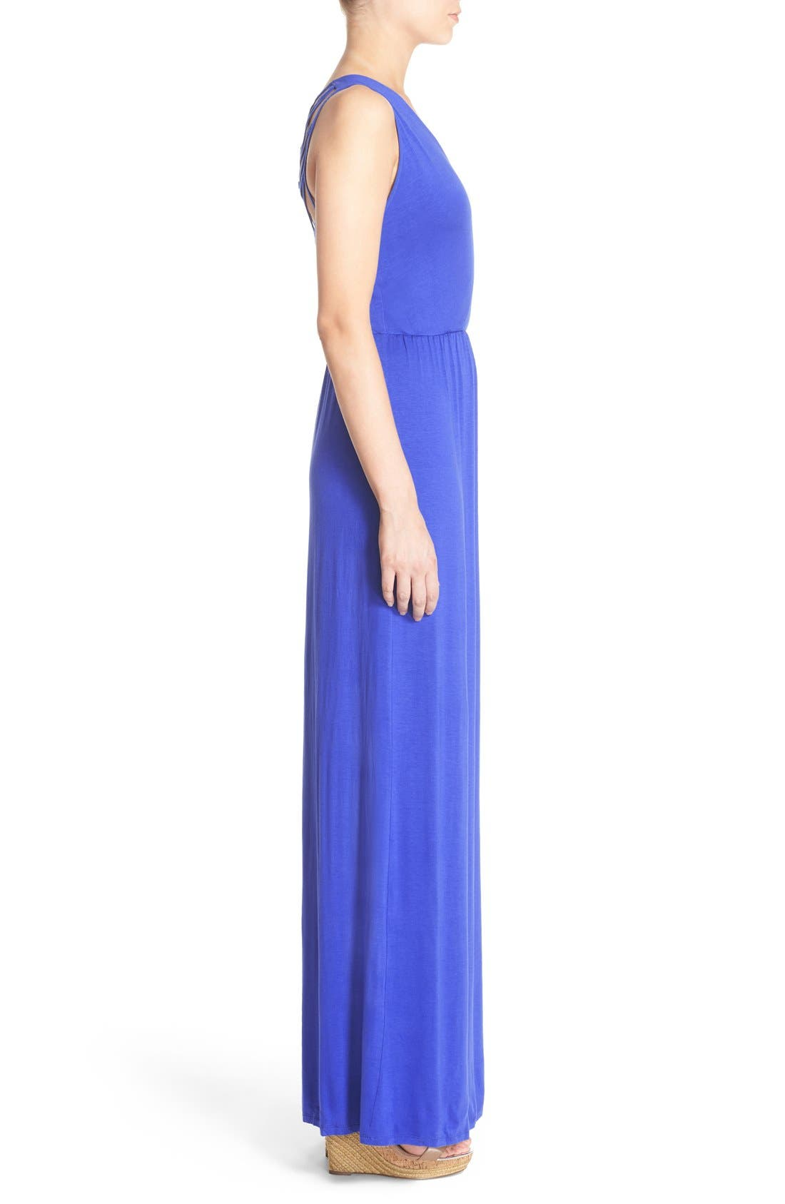 Alternate Image 3  - Felicity & Coco Jersey Strappy Back Maxi Dress (Regular & Petite) (Nordstrom Exclusive)