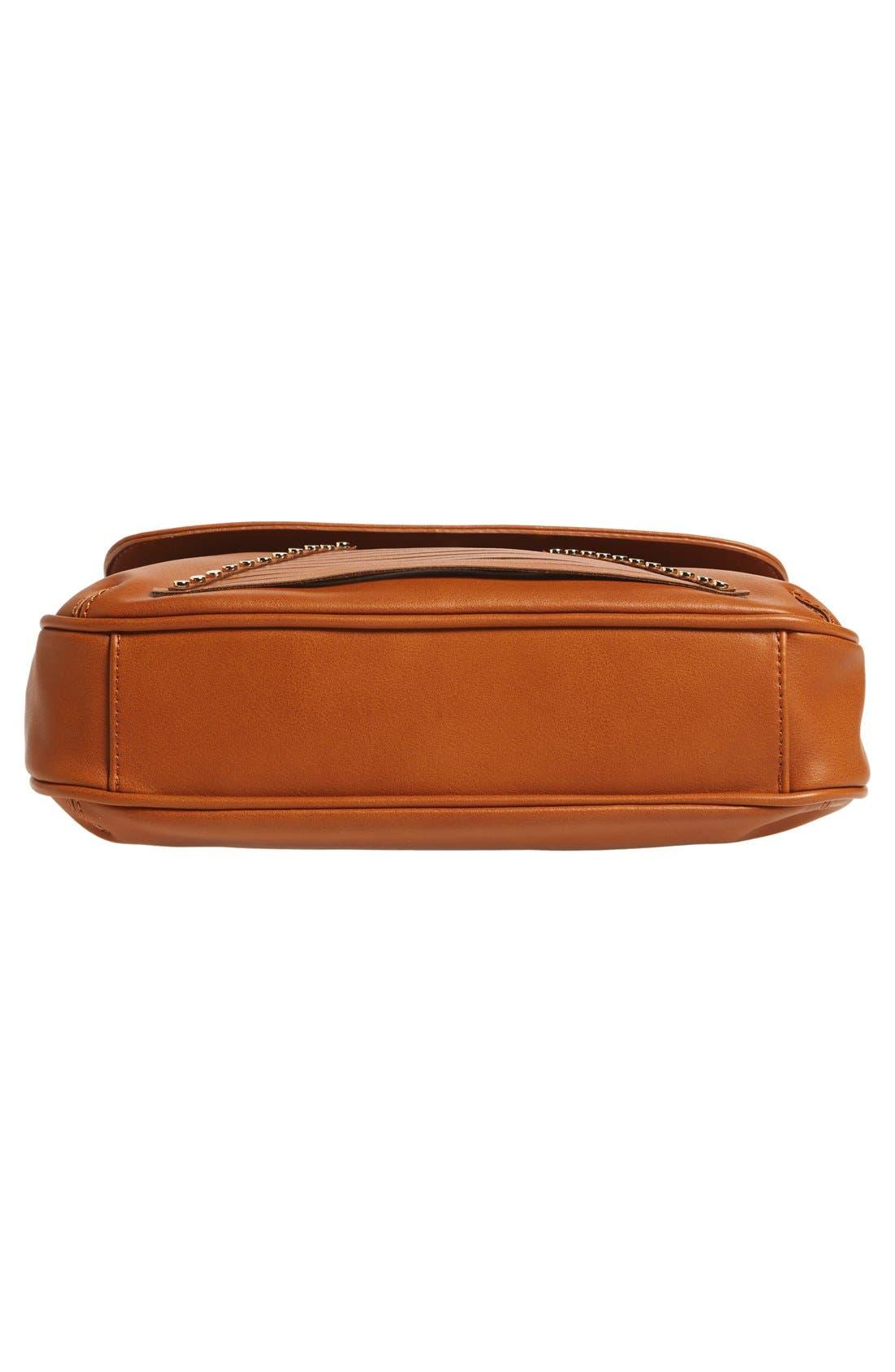 Alternate Image 6  - Emperia 'Larissa' Studded Flap Faux Leather Crossbody Bag