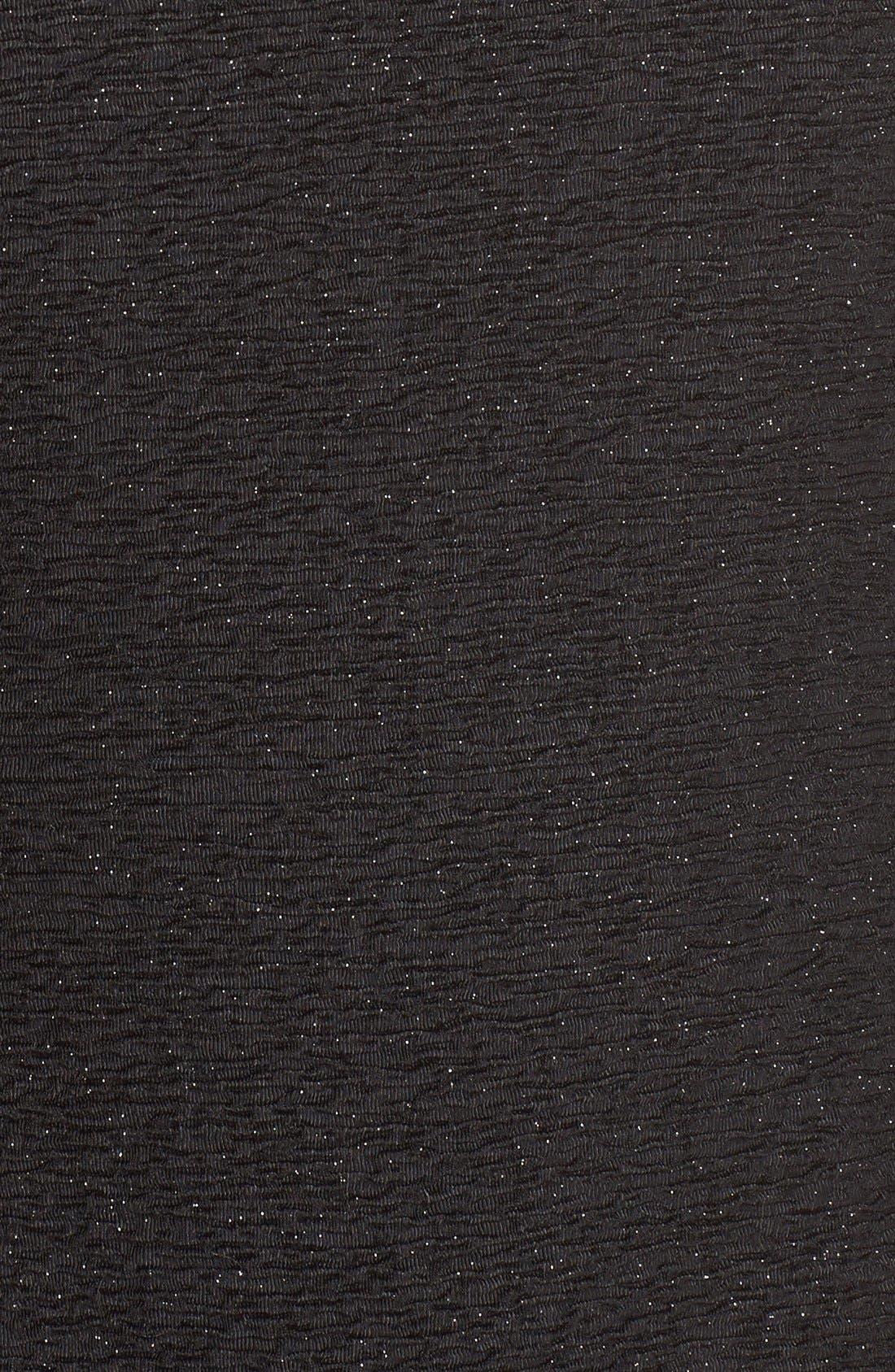 Alternate Image 6  - Eliza J Cold Shoulder Sparkle Knit Sheath Dress