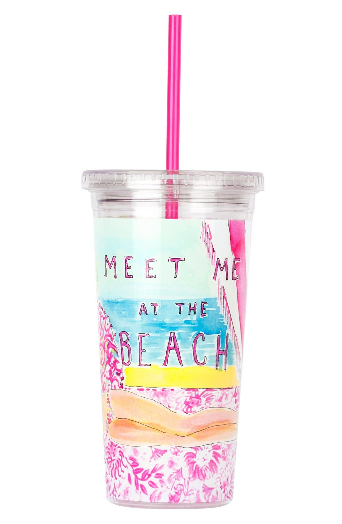 Main Image - Lilly Pulitzer® Cold Drink Tumbler