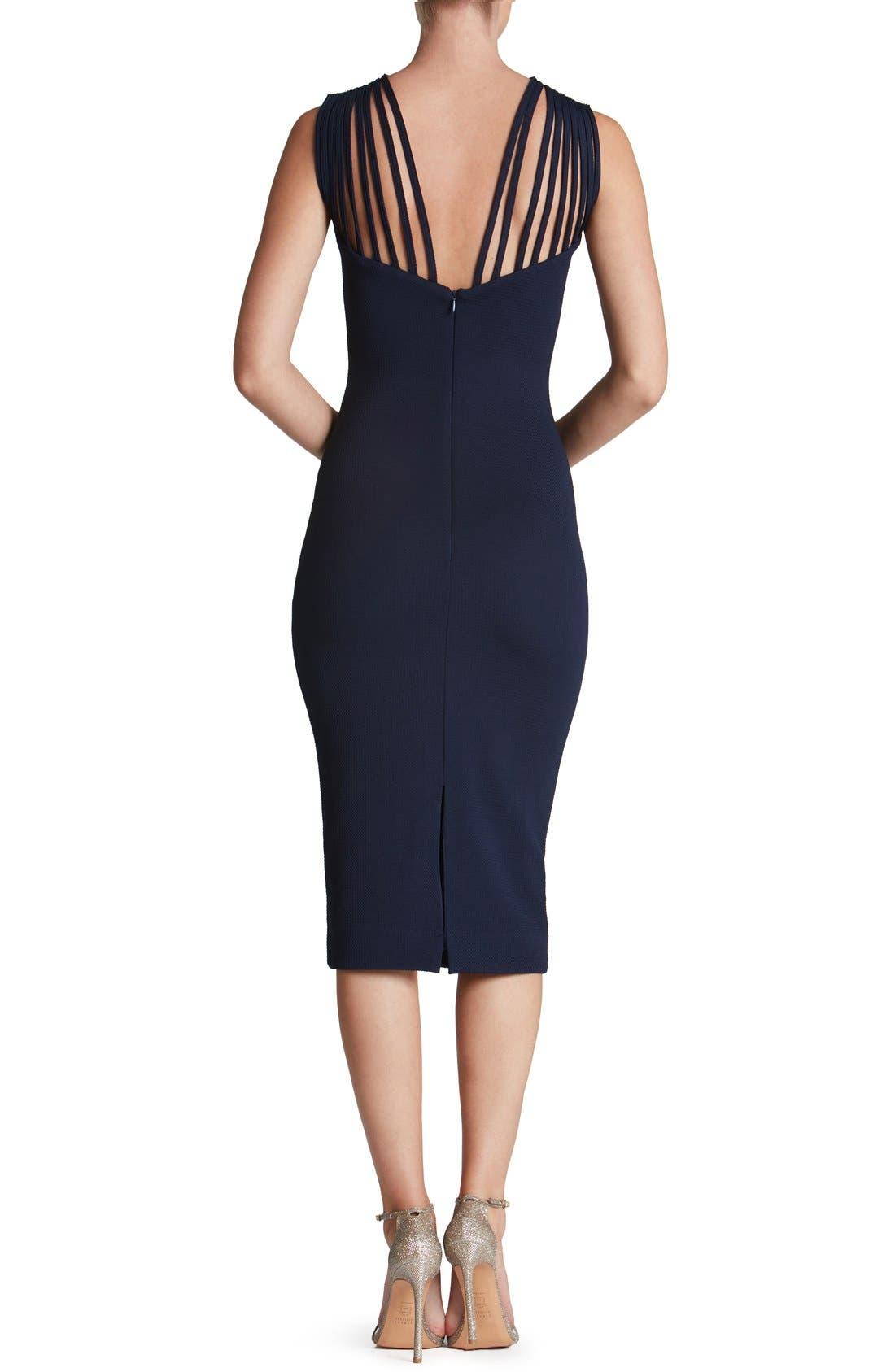 Alternate Image 2  - Dress the Population Gwen Midi Dress