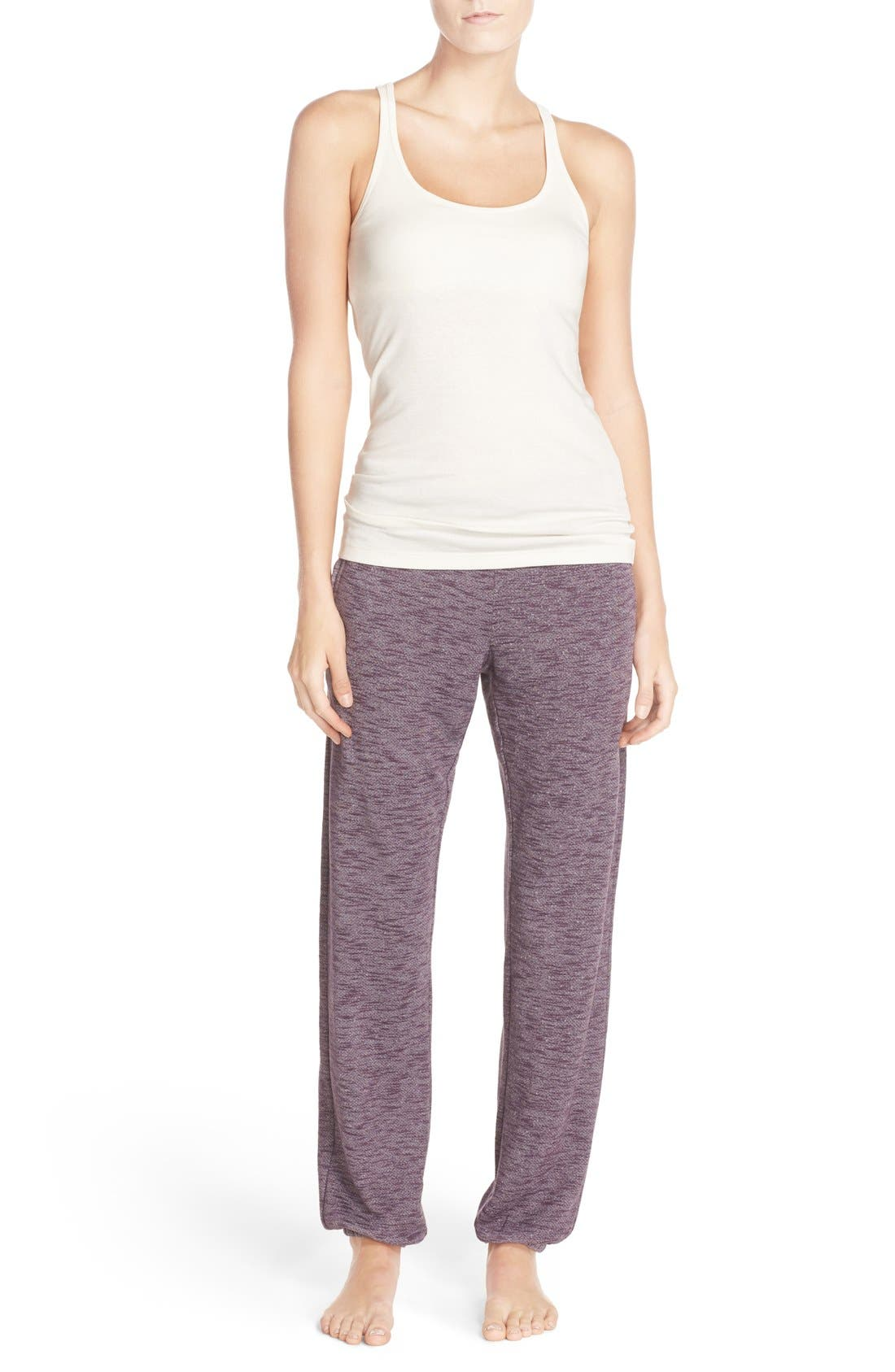 Alternate Image 6  - Nordstrom Lingerie Jogger Sweatpants