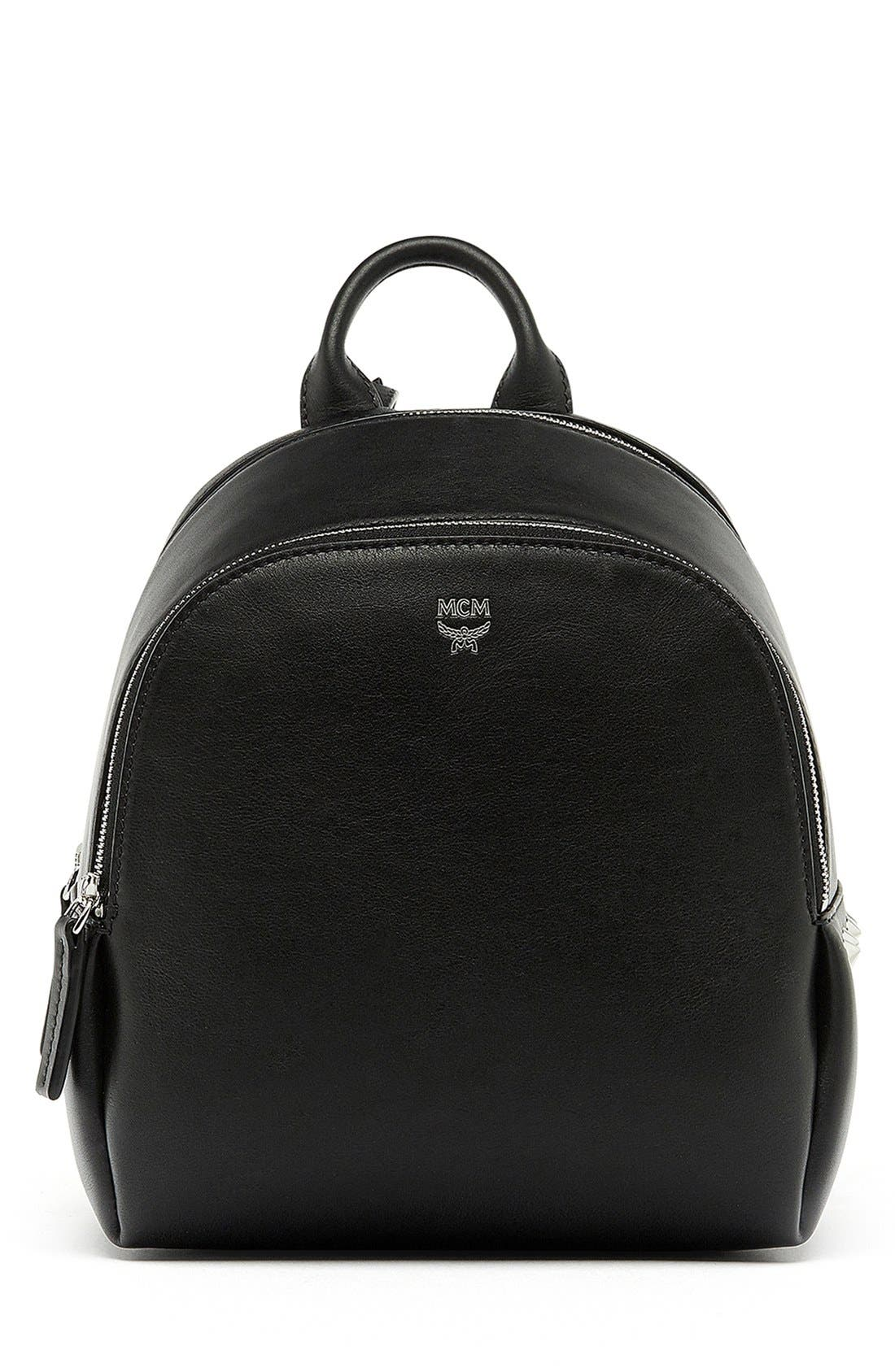 Alternate Image 1 Selected - MCM 'Mini Duchess' Leather Backpack