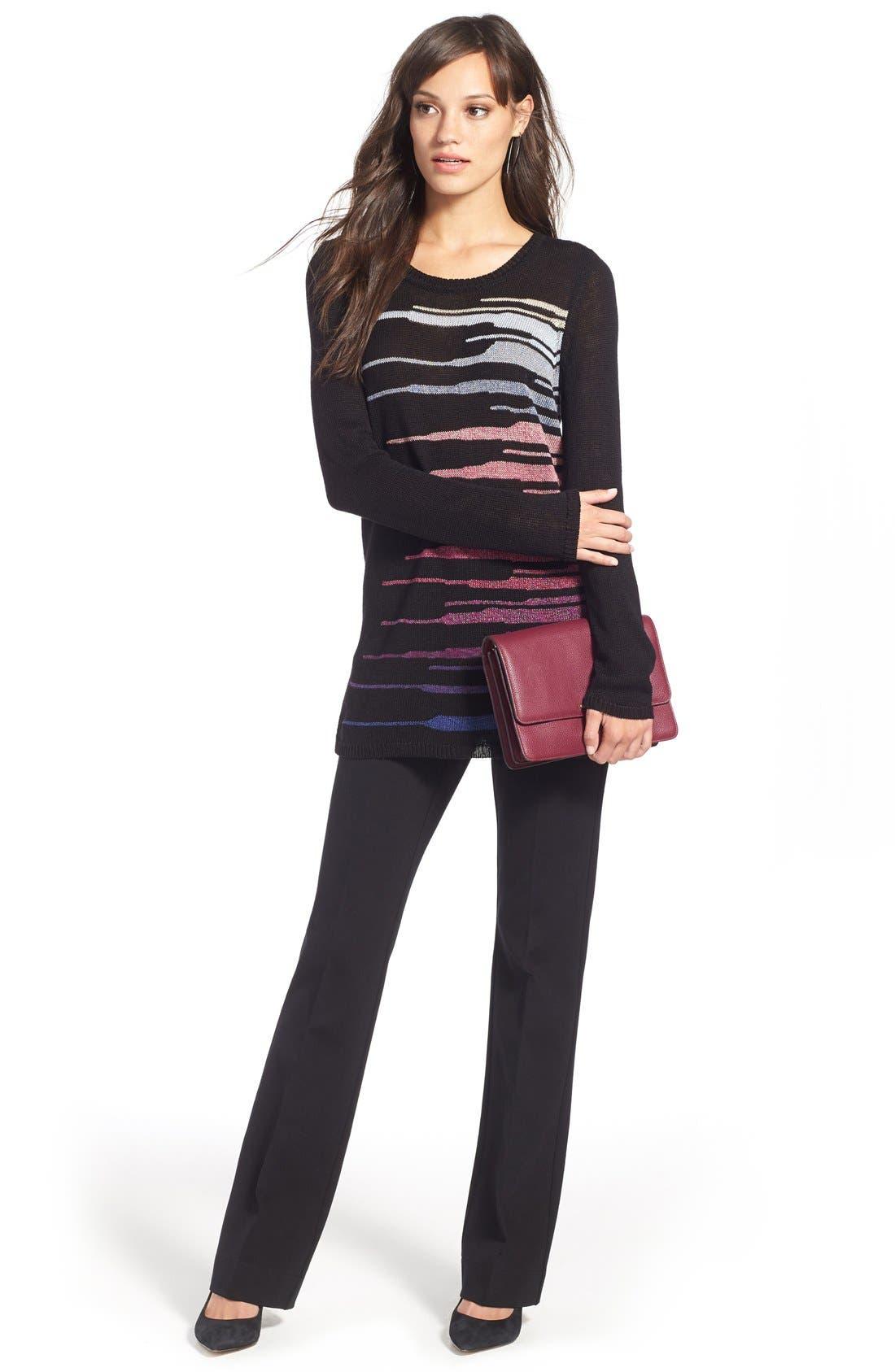Alternate Image 2  - NIC+ZOE 'Speared' Print Lightweight Sweater