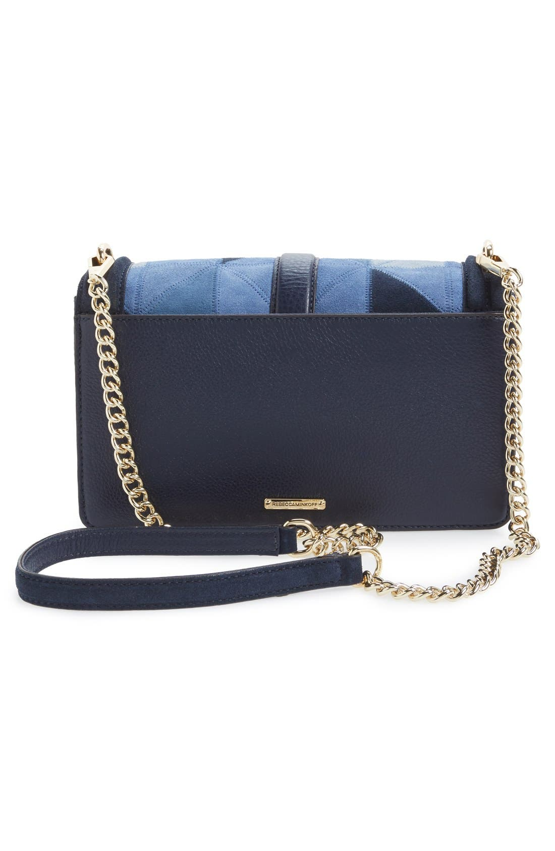 Alternate Image 3  - Rebecca Minkoff 'Love' Patchwork Leather Crossbody Bag