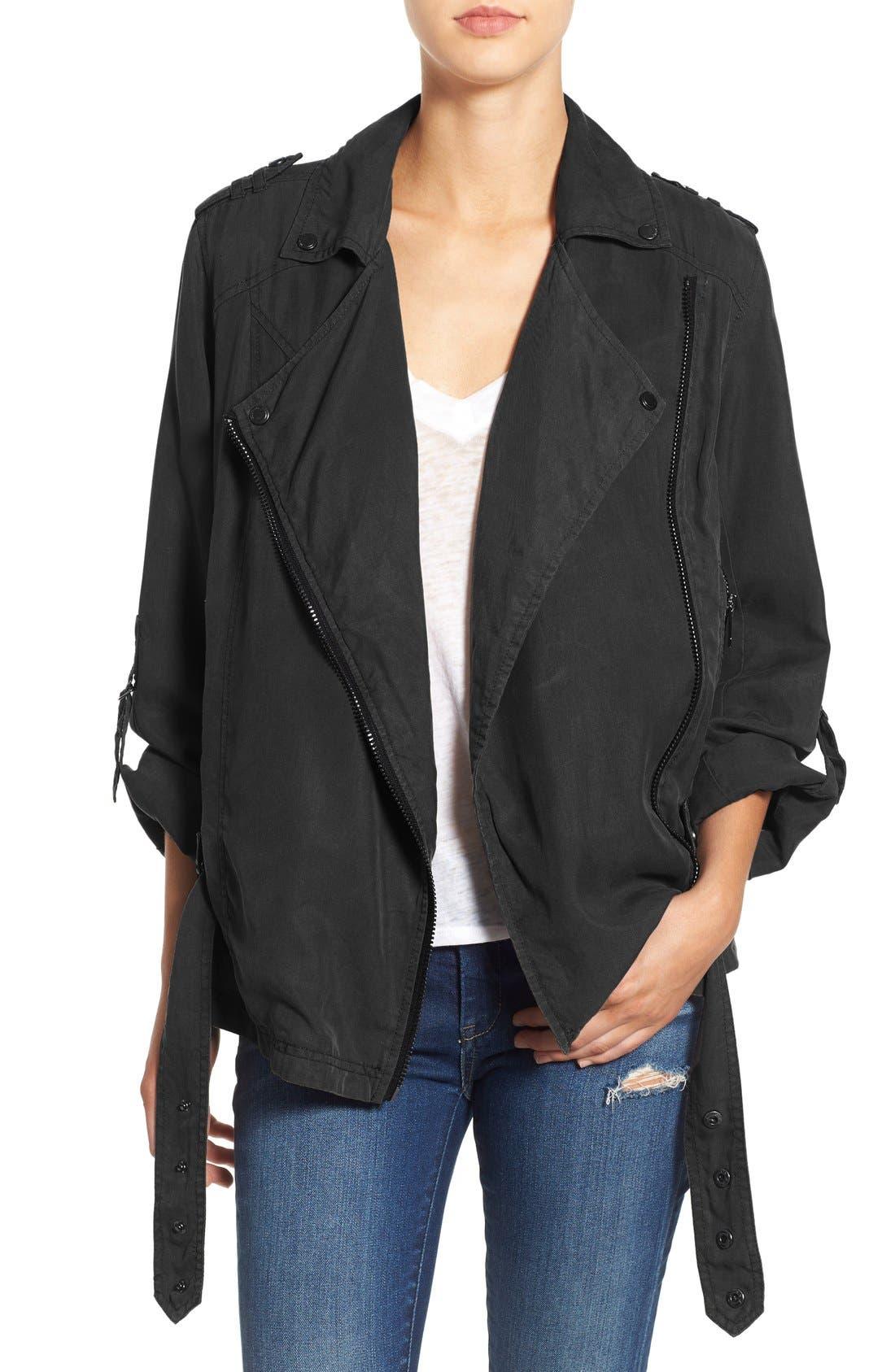 Alternate Image 1 Selected - BLANKNYC Soft Utility Jacket