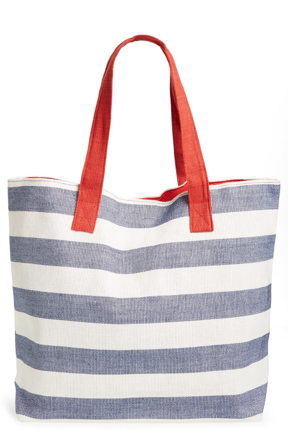 Main Image - BP. Stripe Canvas Tote