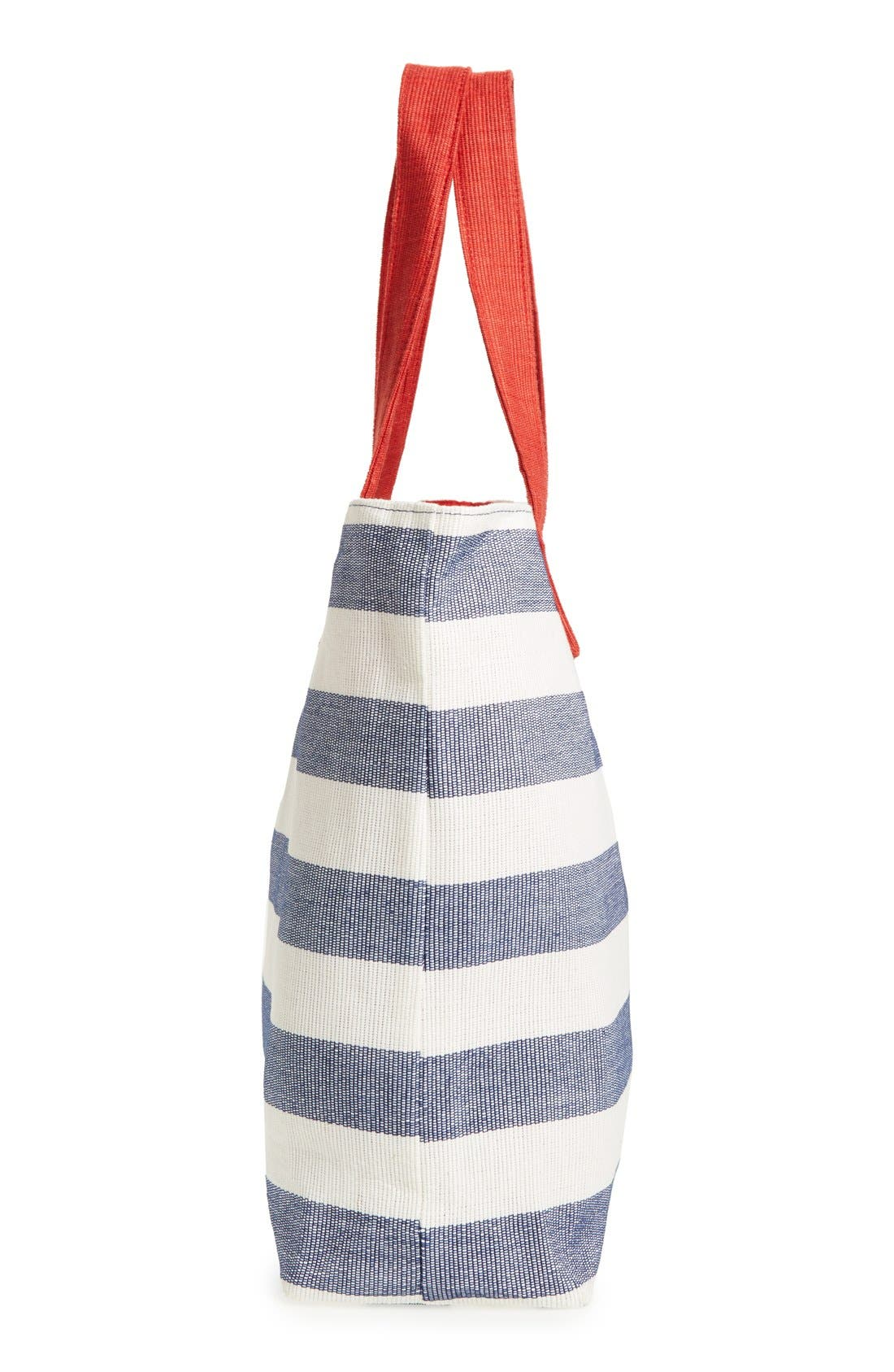 Alternate Image 5  - BP. Stripe Canvas Tote