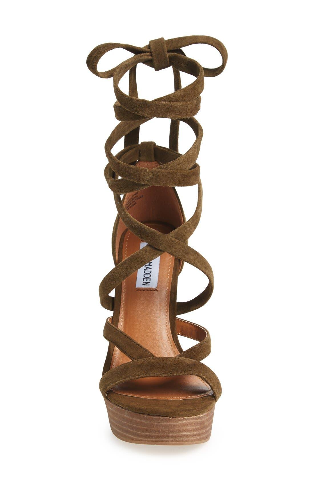 Alternate Image 3  - Steve Madden 'Laceit' Platform Sandal (Women)
