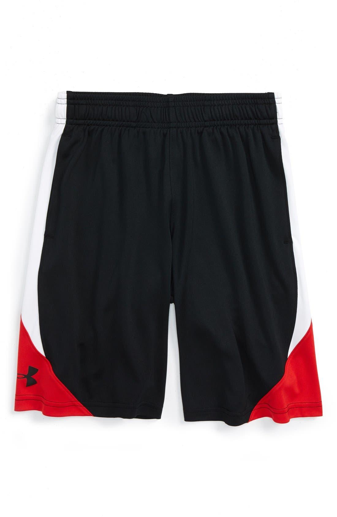 Under Armour 'Trilogy' HeatGear® Shorts (Big Boys)