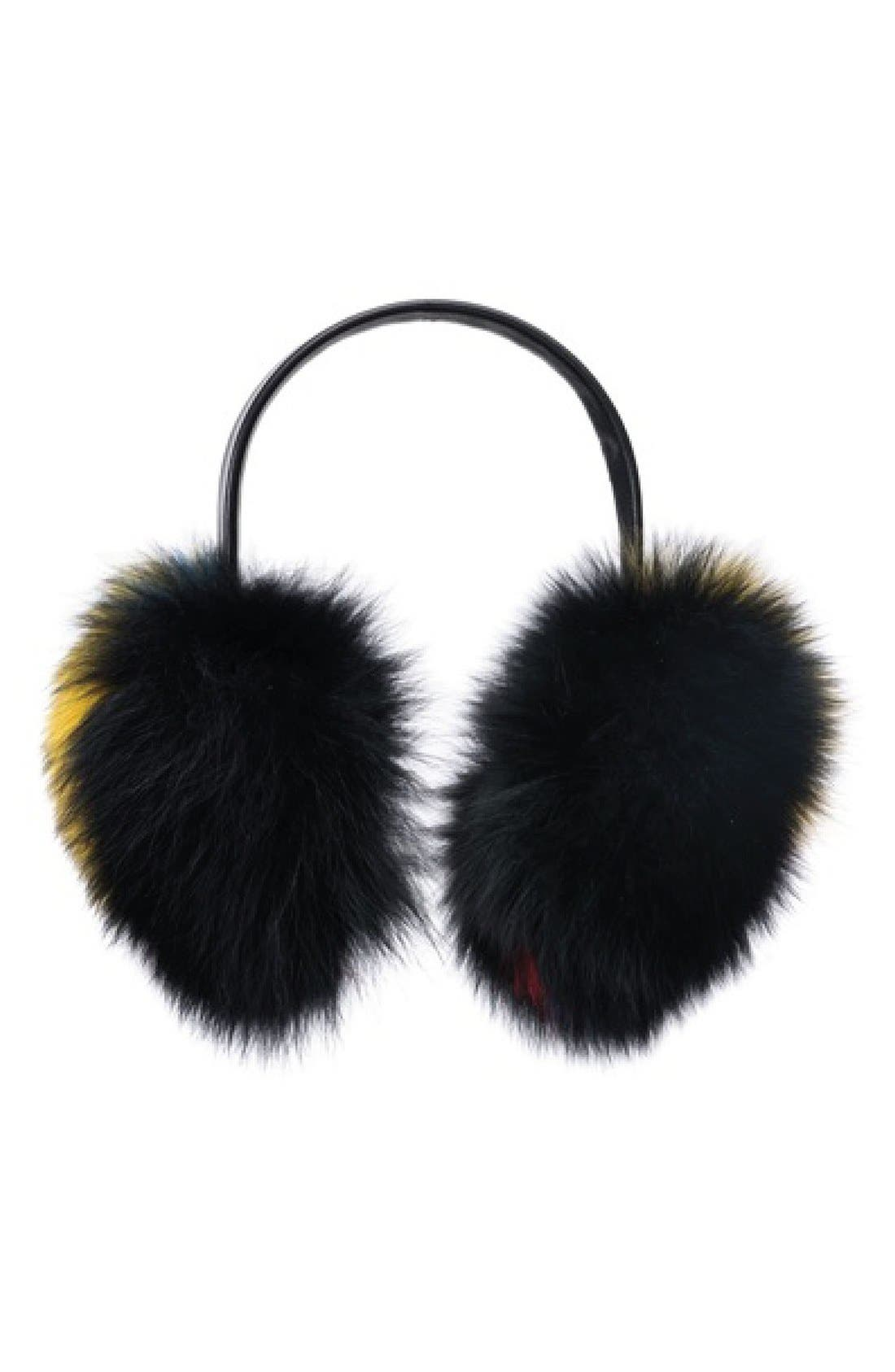 Main Image - Eugenia Kim 'Janine' Genuine Fox Fur Earmuffs