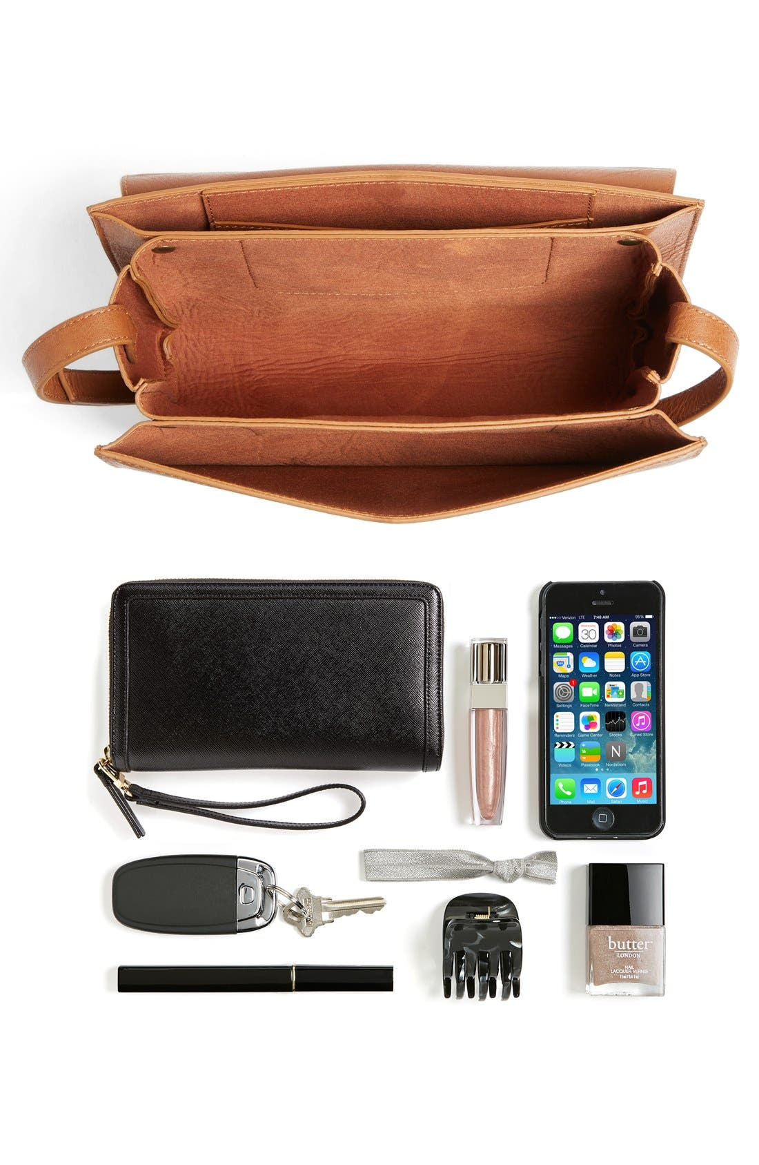 Alternate Image 7  - BP. Tassel Faux Leather Crossbody Bag