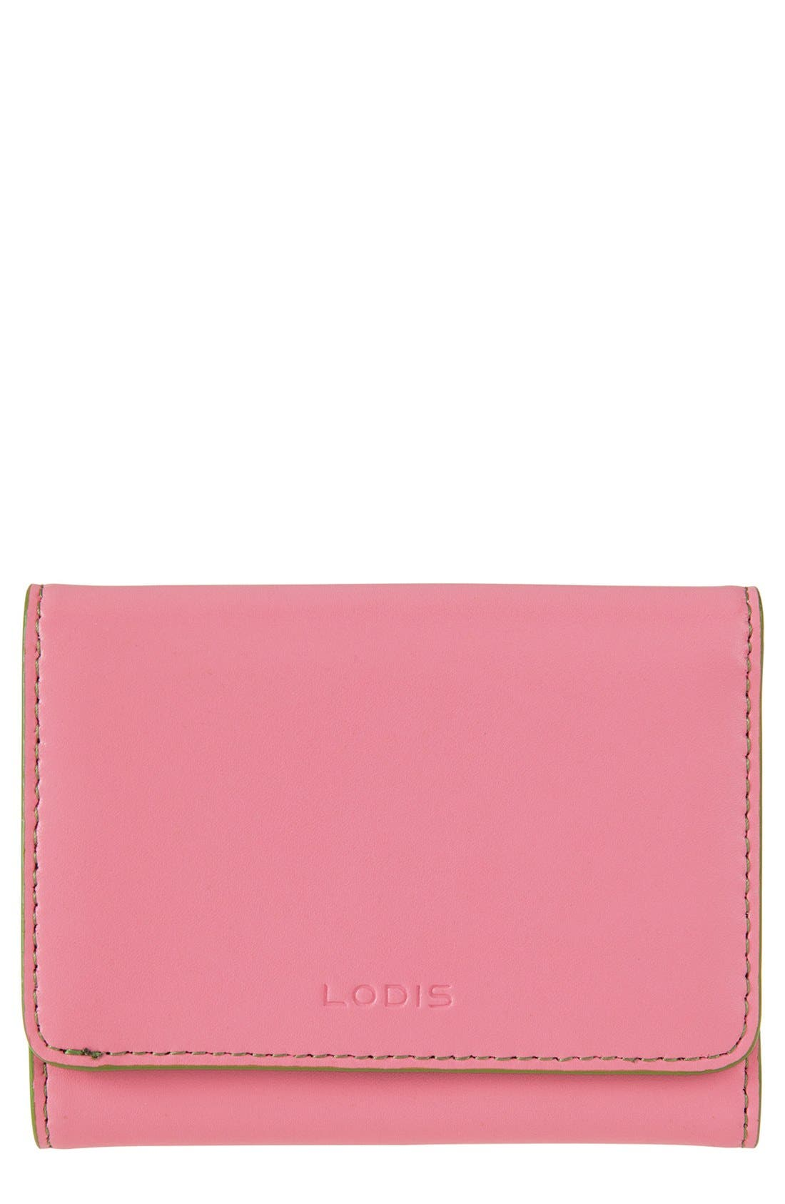 Main Image - Lodis 'Audrey - Mallory' Leather French Wallet