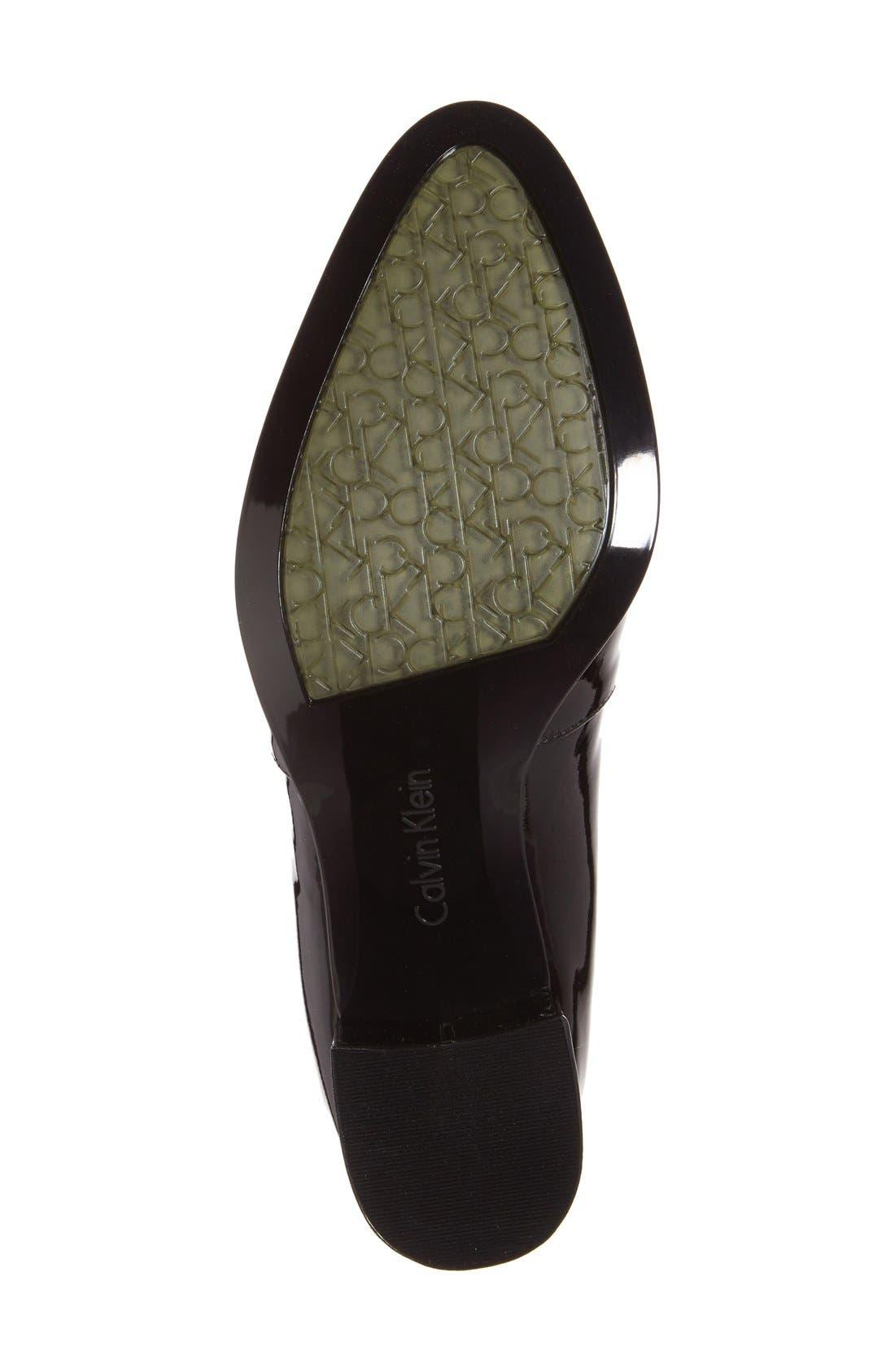 Alternate Image 4  - Calvin Klein 'Faye' Block Heel Pump (Women)