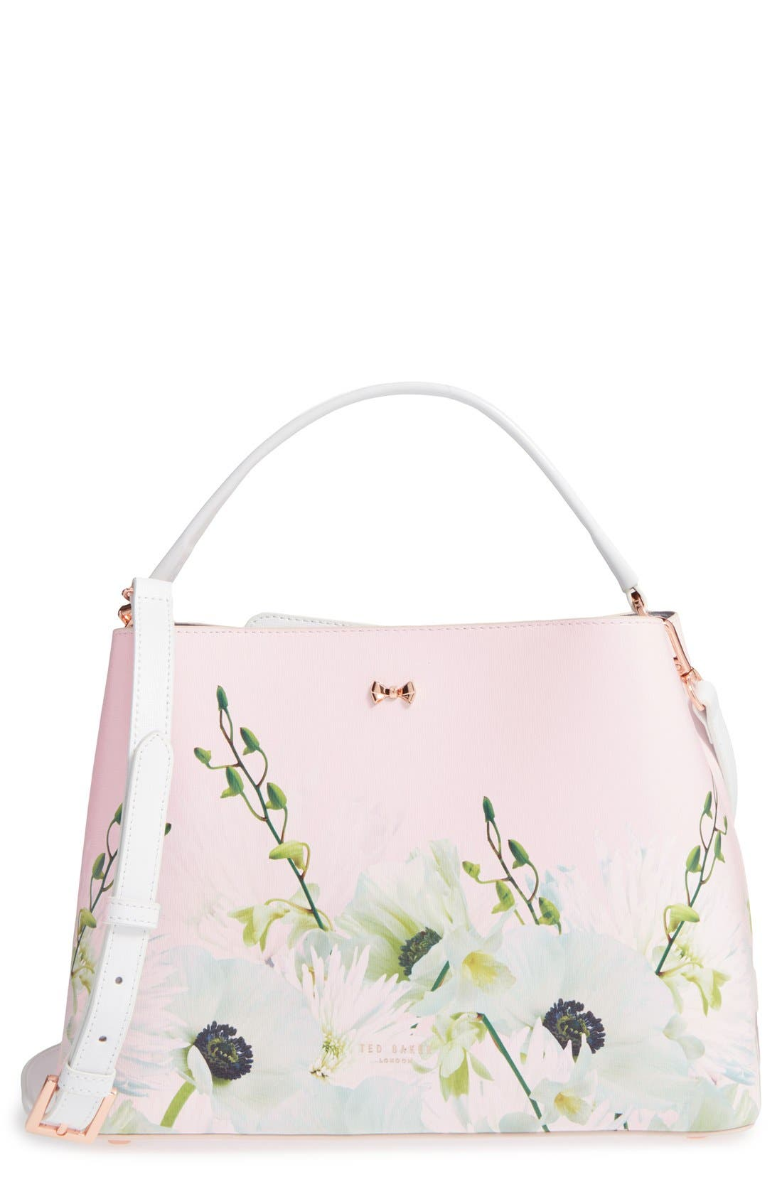 Alternate Image 1 Selected - Ted Baker London 'Candise Bow' Leather Tote