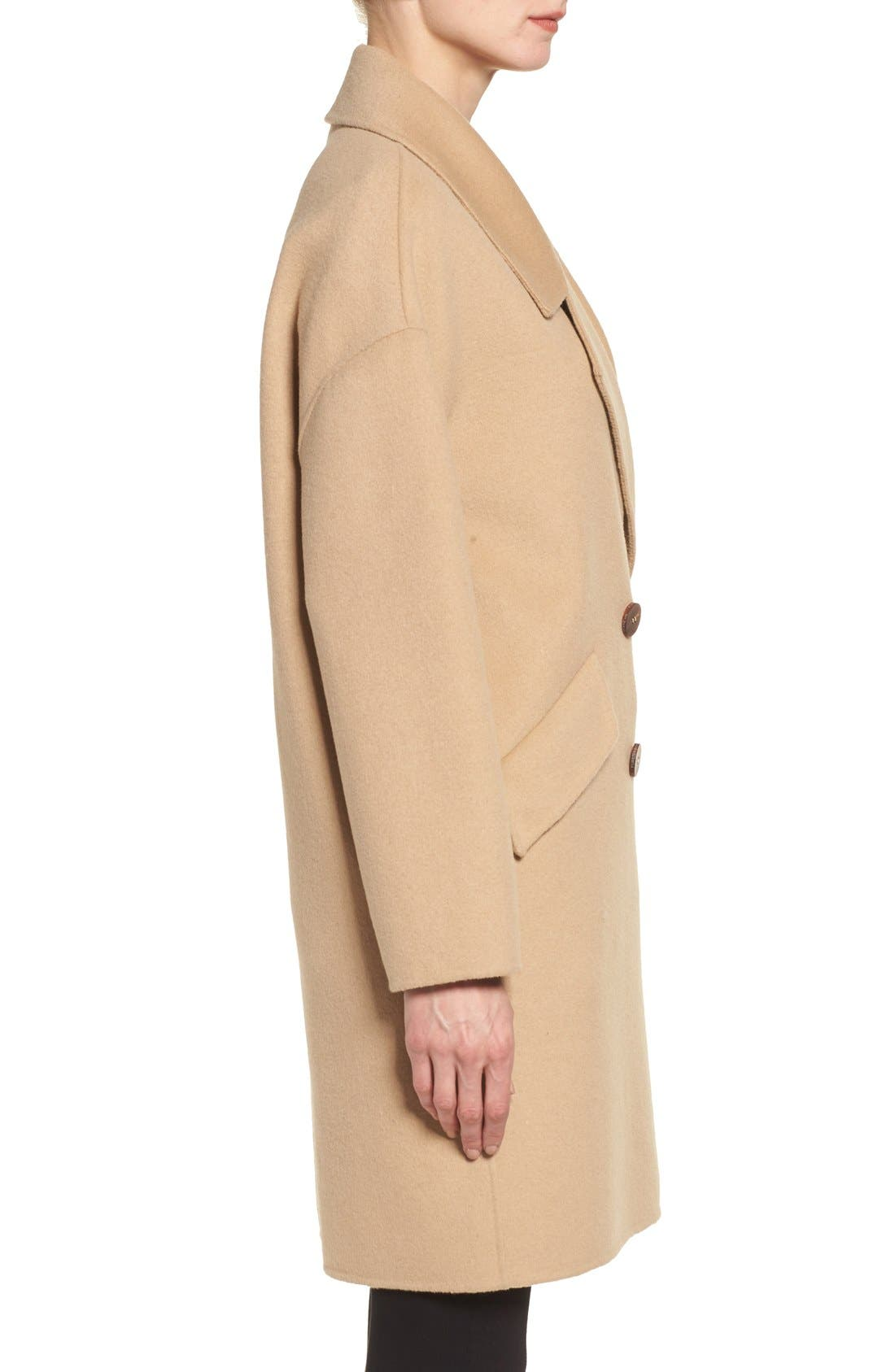 Alternate Image 3  - Diane von Furstenberg Double Face Double Breasted Walking Coat