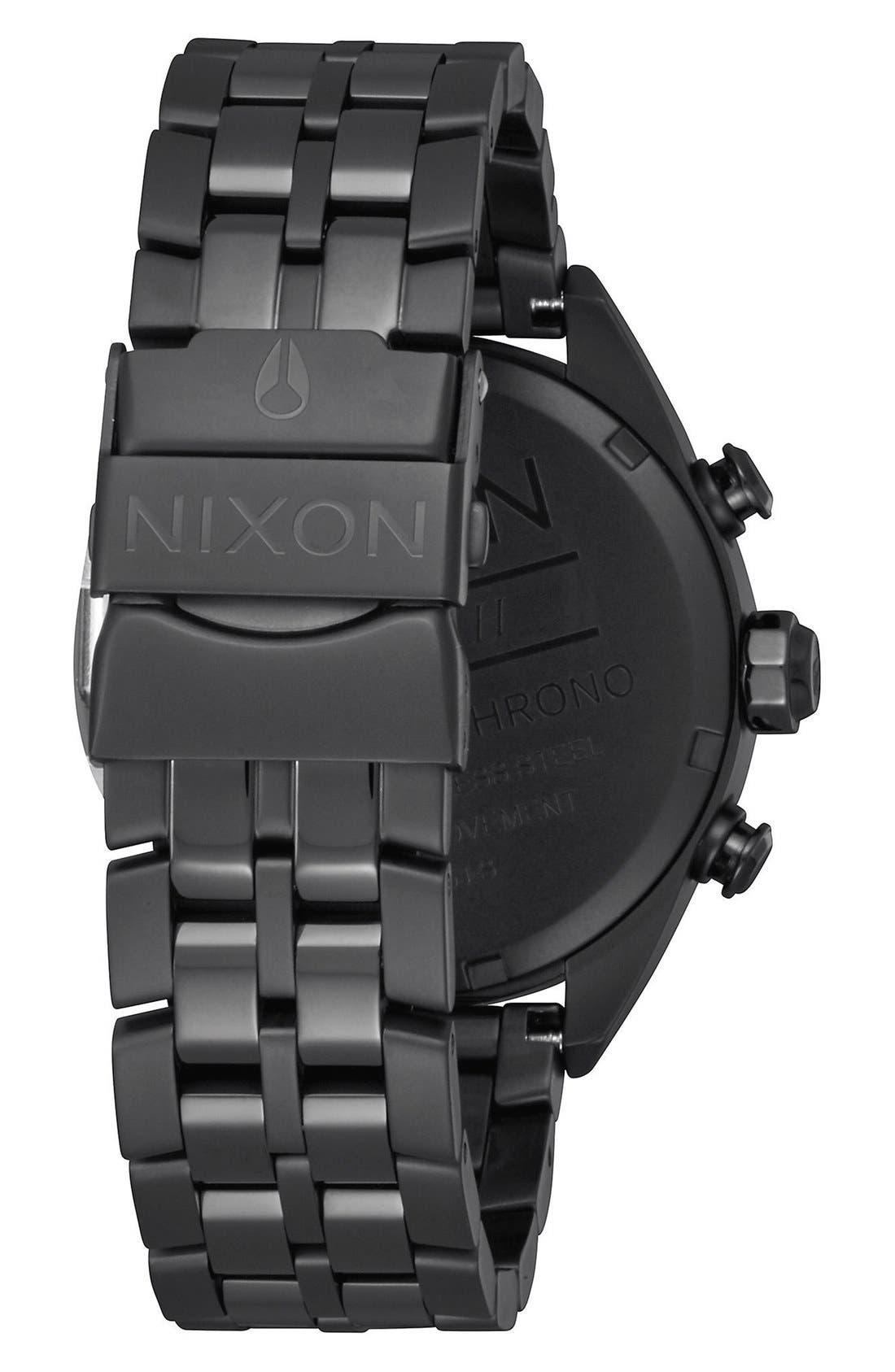 Alternate Image 2  - Nixon 'Minx' Chronograph Bracelet Watch, 39mm