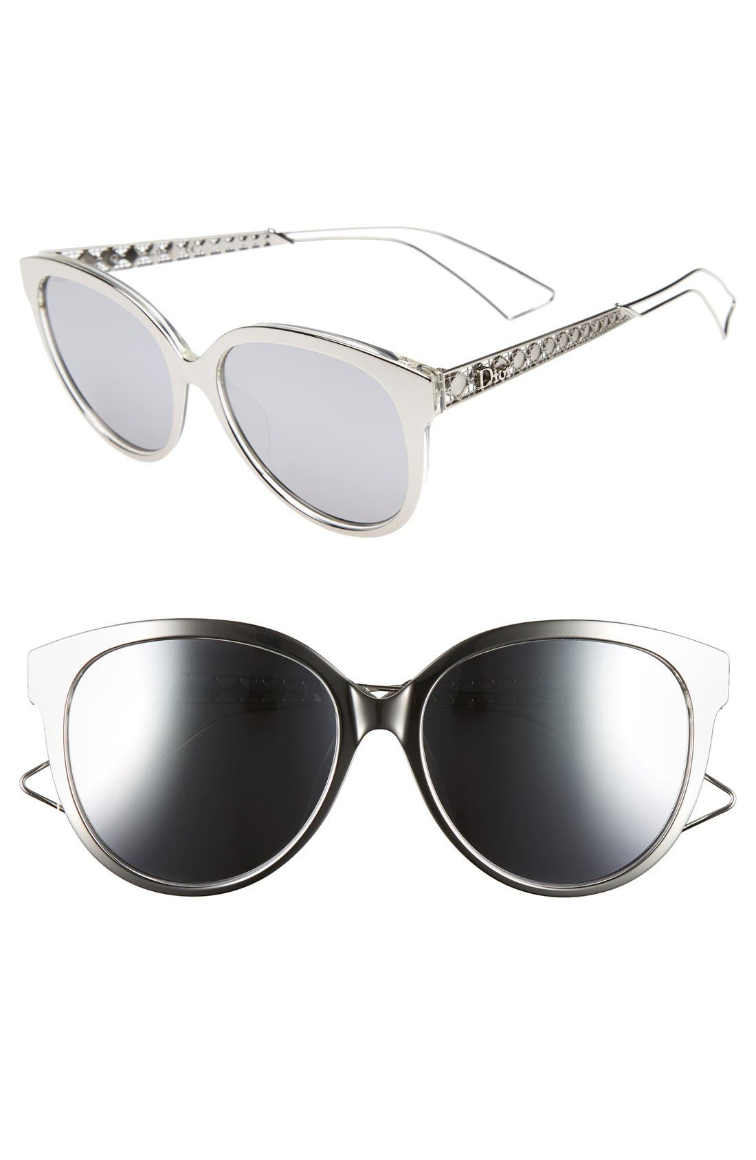Main Image - Dior Diorama 2 56mm Cat Eye Sunglasses