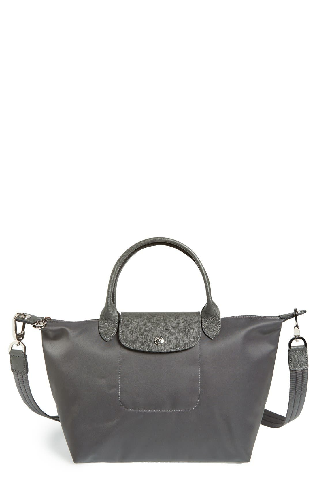 Longchamp 'Small Le Pliage Neo' Nylon Tote