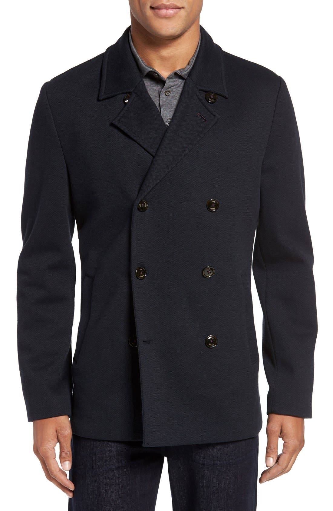 Ted Baker London 'Bonde' Modern Trim Fit Double Breasted Jacket