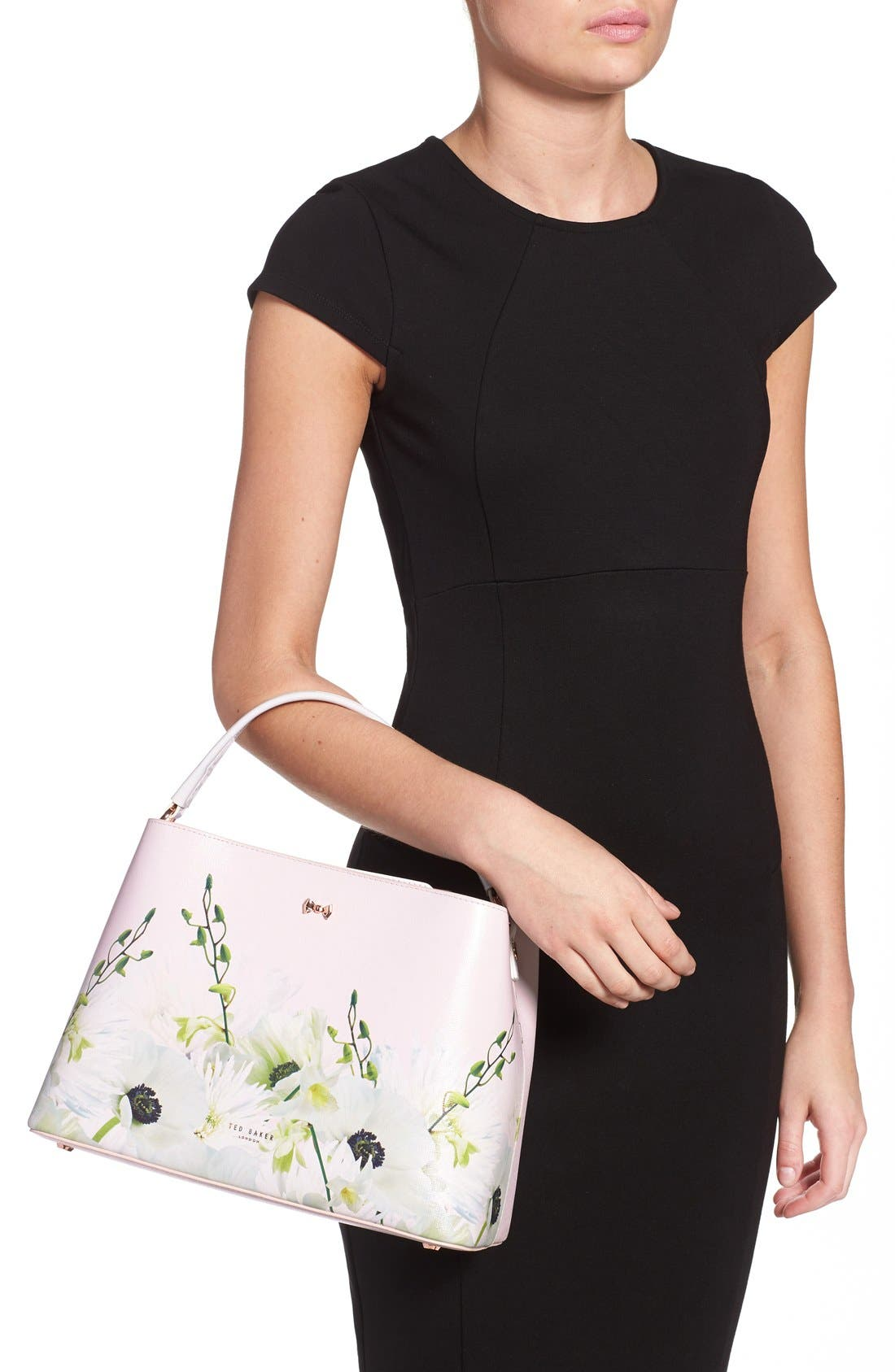 Alternate Image 2  - Ted Baker London 'Candise Bow' Leather Tote