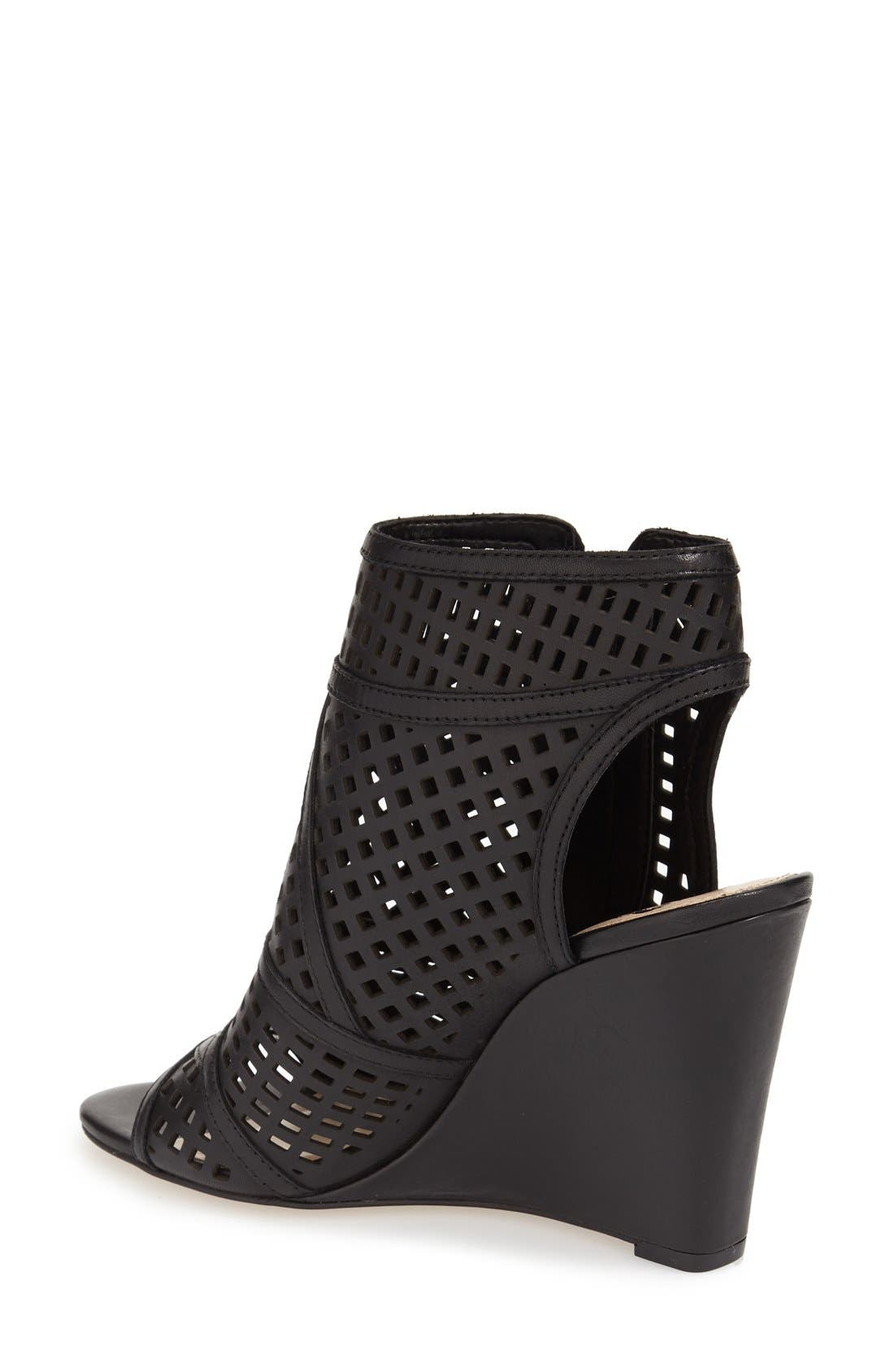 Alternate Image 2  - Vince Camuto 'Xabrina' Perforated Wedge Sandal (Women)