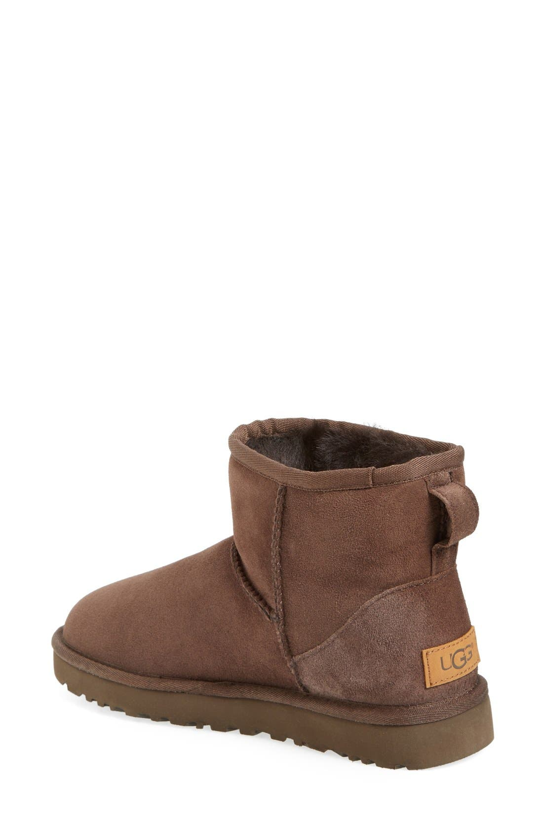 Alternate Image 2  - UGG® 'Classic Mini II' Genuine Shearling Lined Boot (Women)