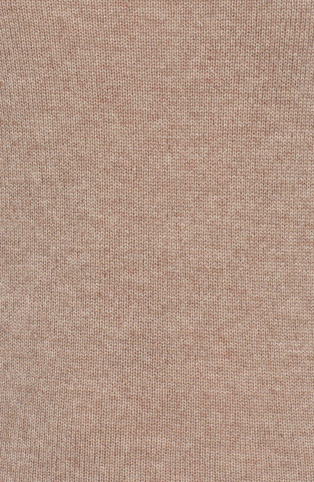 Alternate Image 5  - Halogen® Wool & Cashmere Funnel Neck Sweater (Regular & Petite)