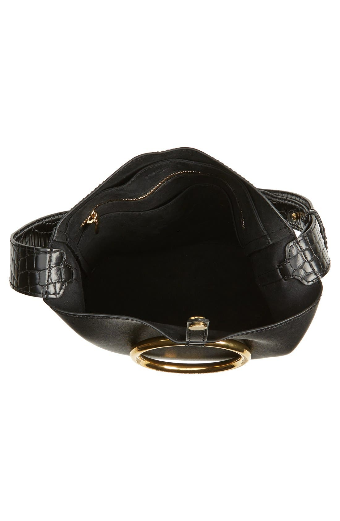 Alternate Image 4  - Stella McCartney 'Medium Ring' Faux Nappa Leather Bucket Bag