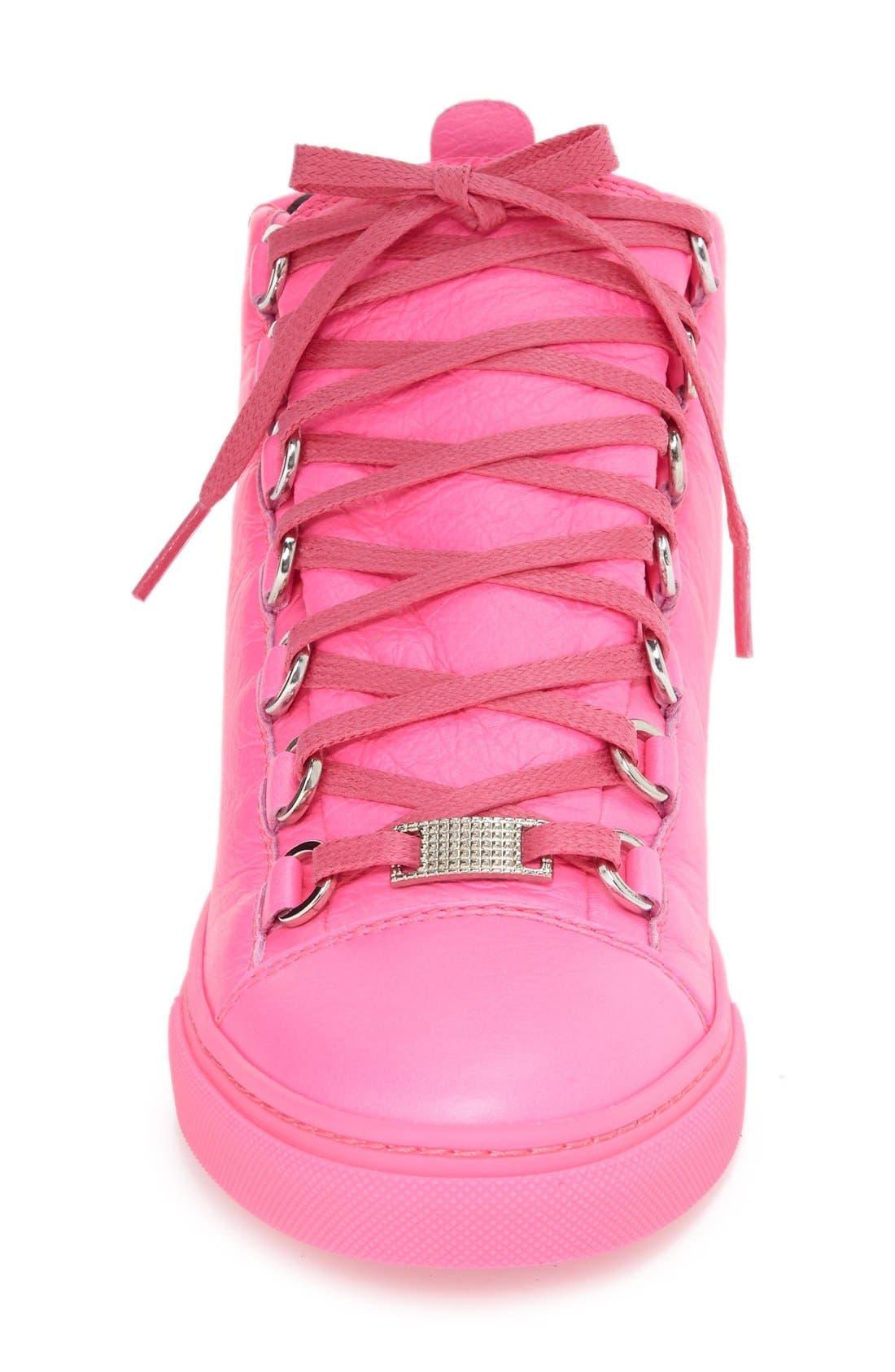 Alternate Image 6  - Balenciaga High Top Sneaker (Women)