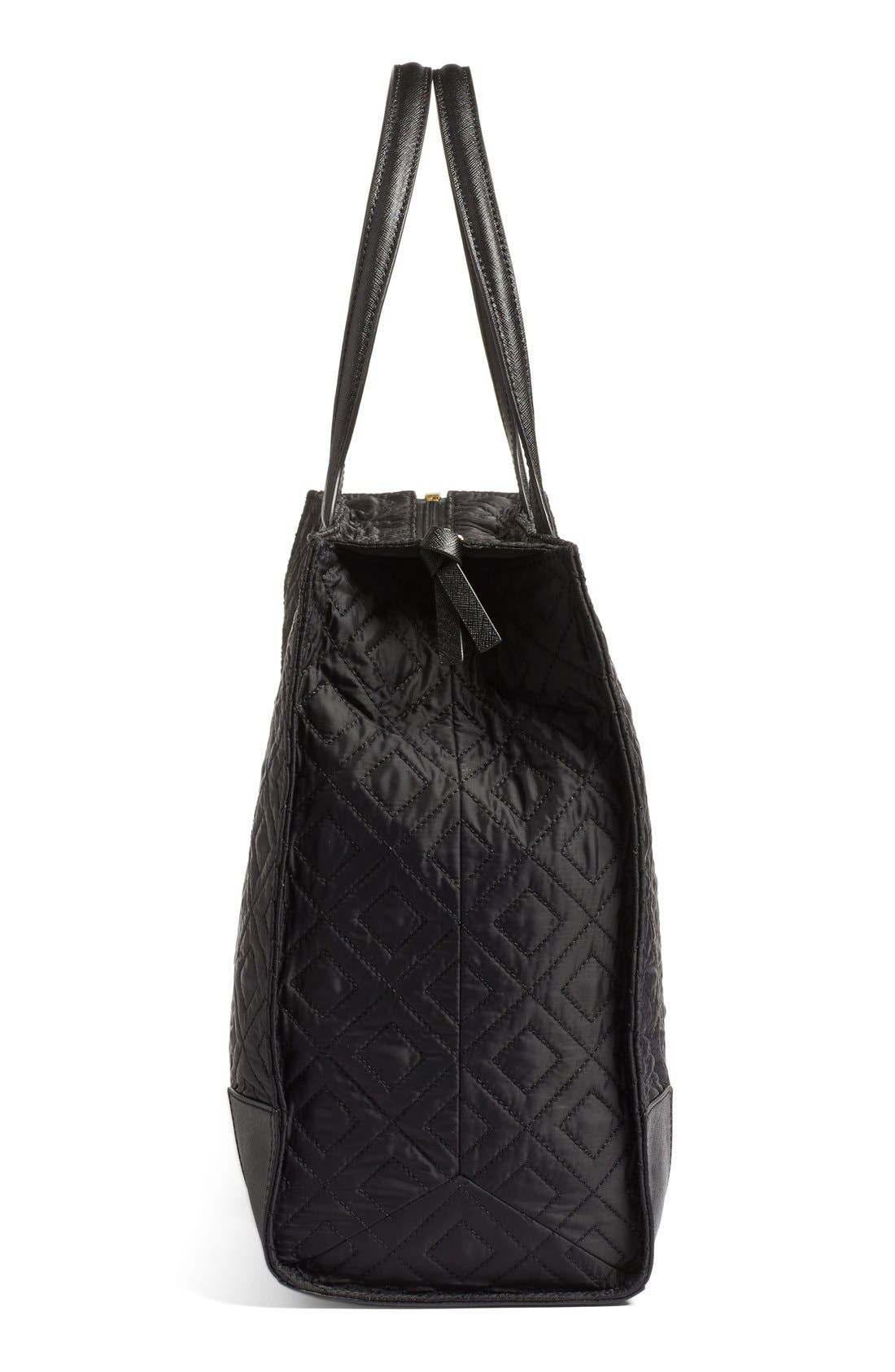 Alternate Image 5  - Tory Burch 'Ella' Packable Quilted Nylon Tote