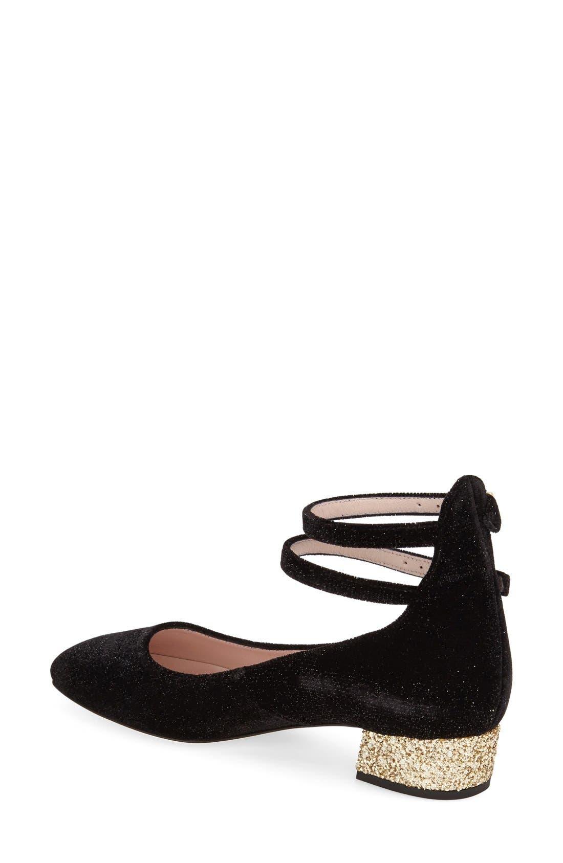 Alternate Image 2  - kate spade new york 'marcellina' ankle strap pump (Women)