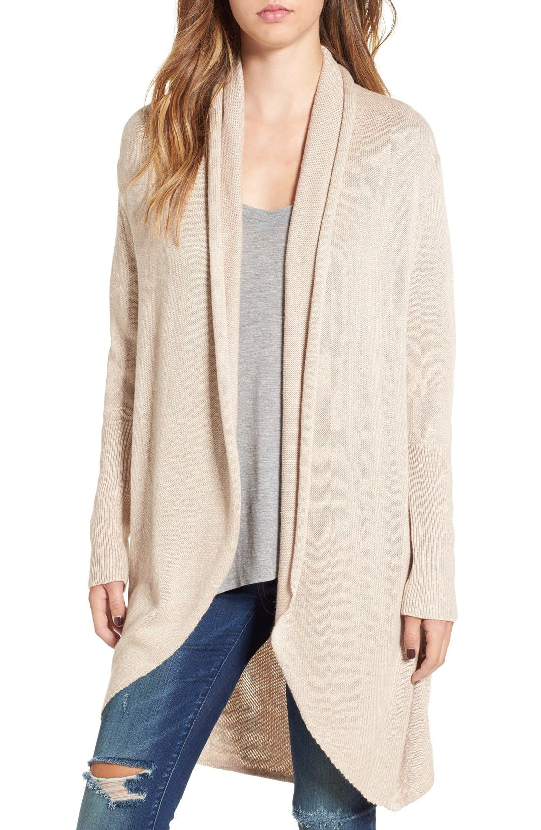 Alternate Image 1 Selected - Leith Shawl Collar Cocoon Cardigan