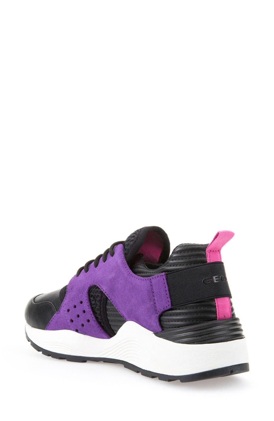 Alternate Image 2  - Geox 'Omaya' Sneaker (Women)