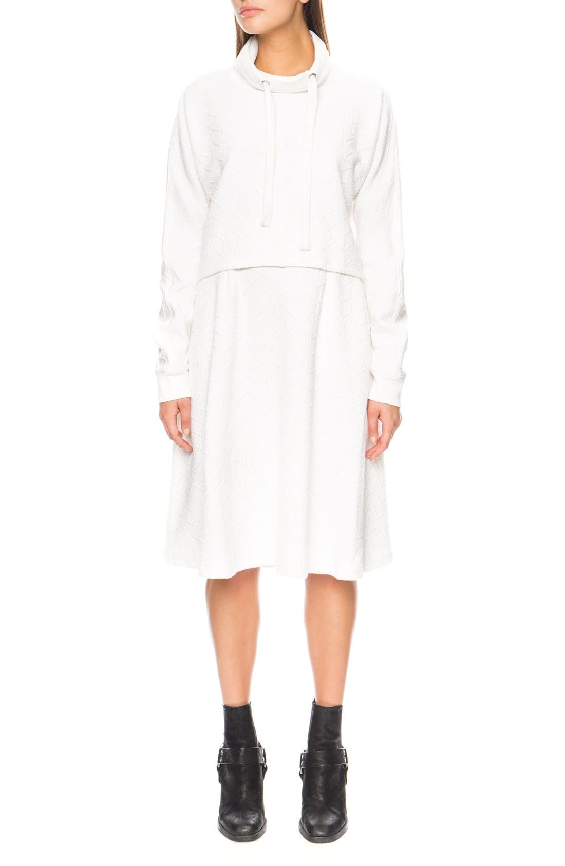 Alternate Image 1 Selected - The Fifth Label 'Passport' Midi Skirt