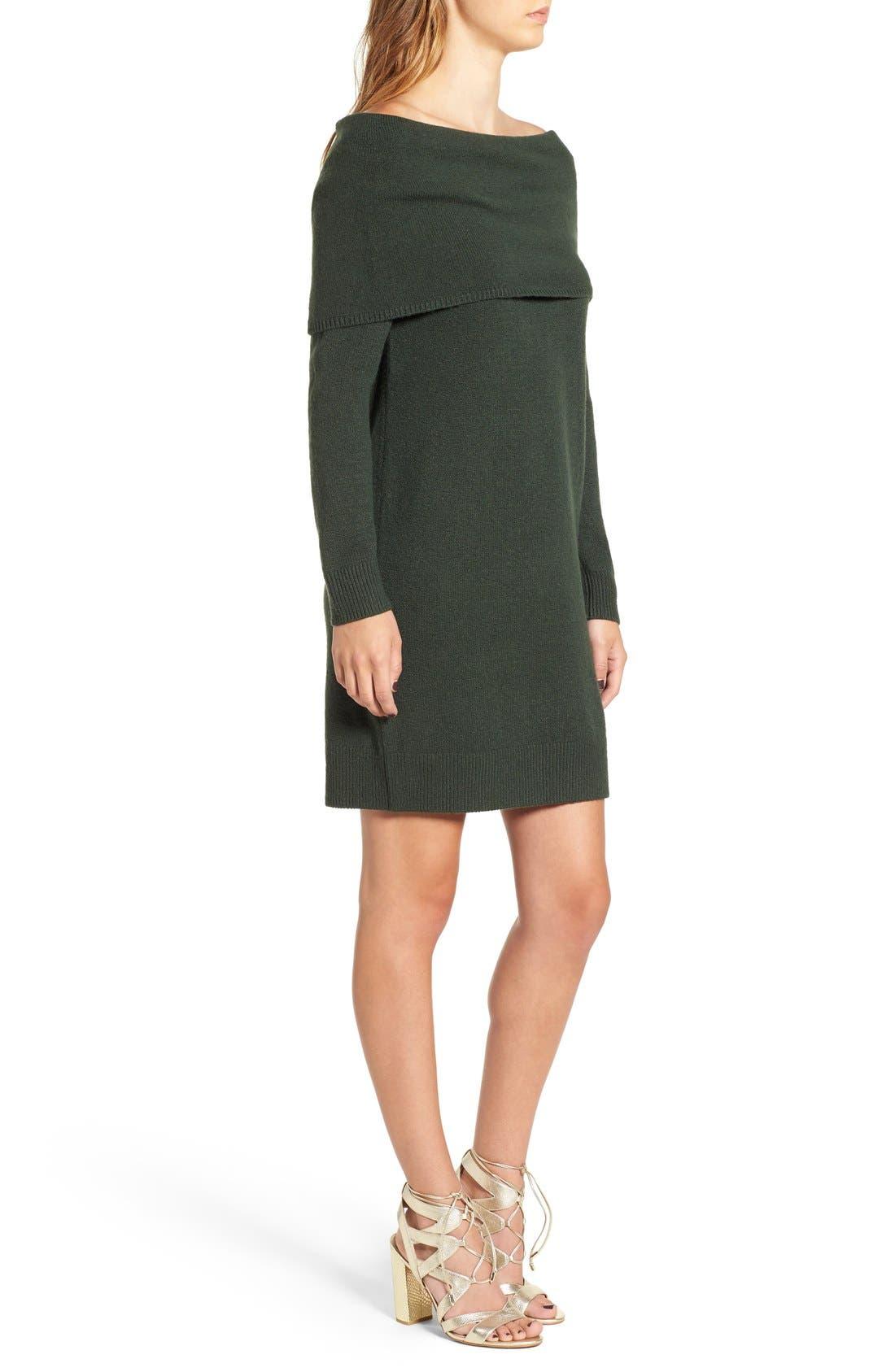 Alternate Image 3  - BP. Off the Shoulder Sweater Dress