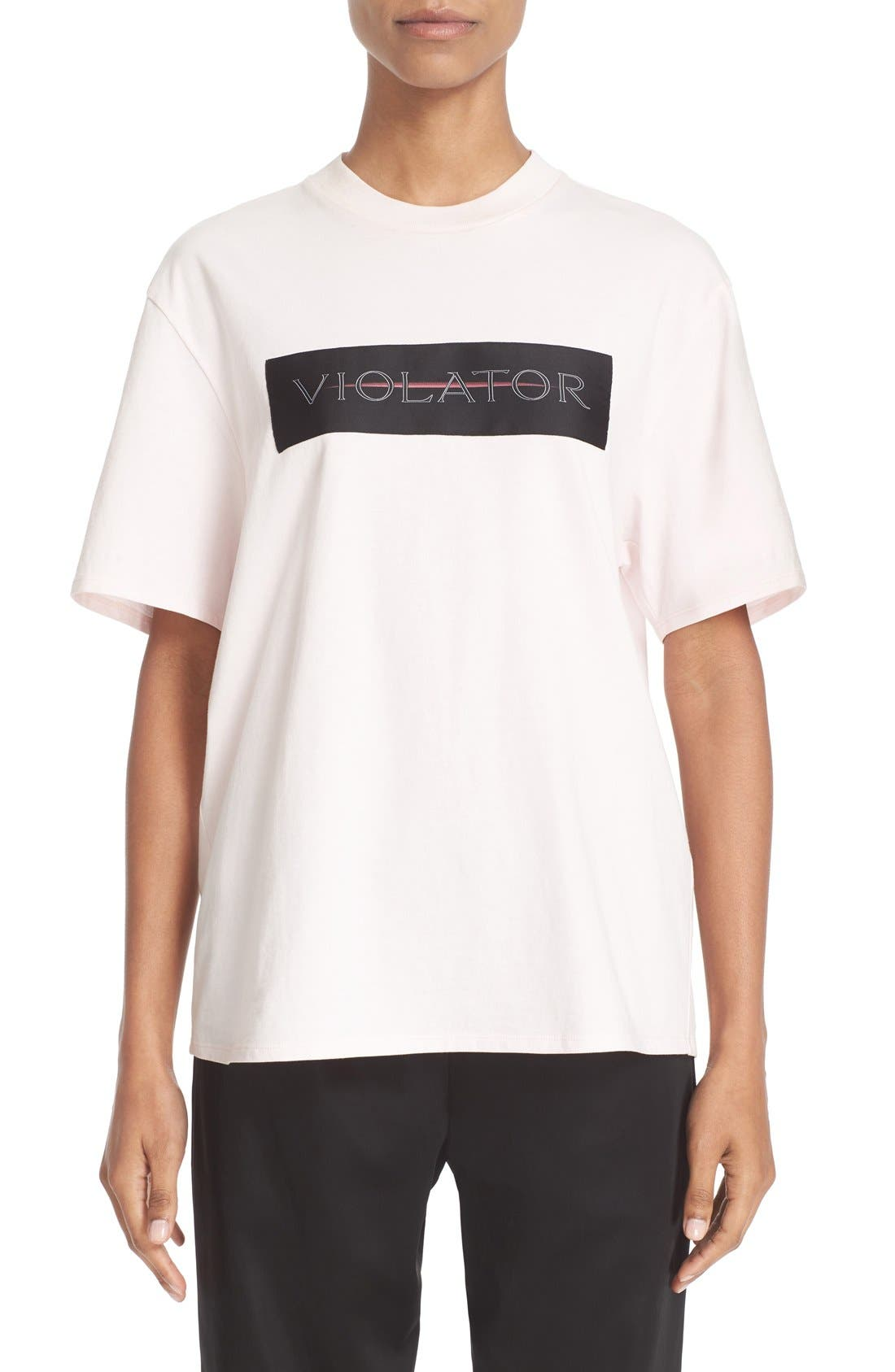 Alternate Image 2  - Alexander Wang Label Patch Tee